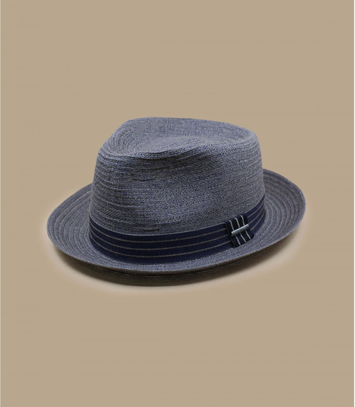 Details Fedora Toyo blue mix - afbeeling 2