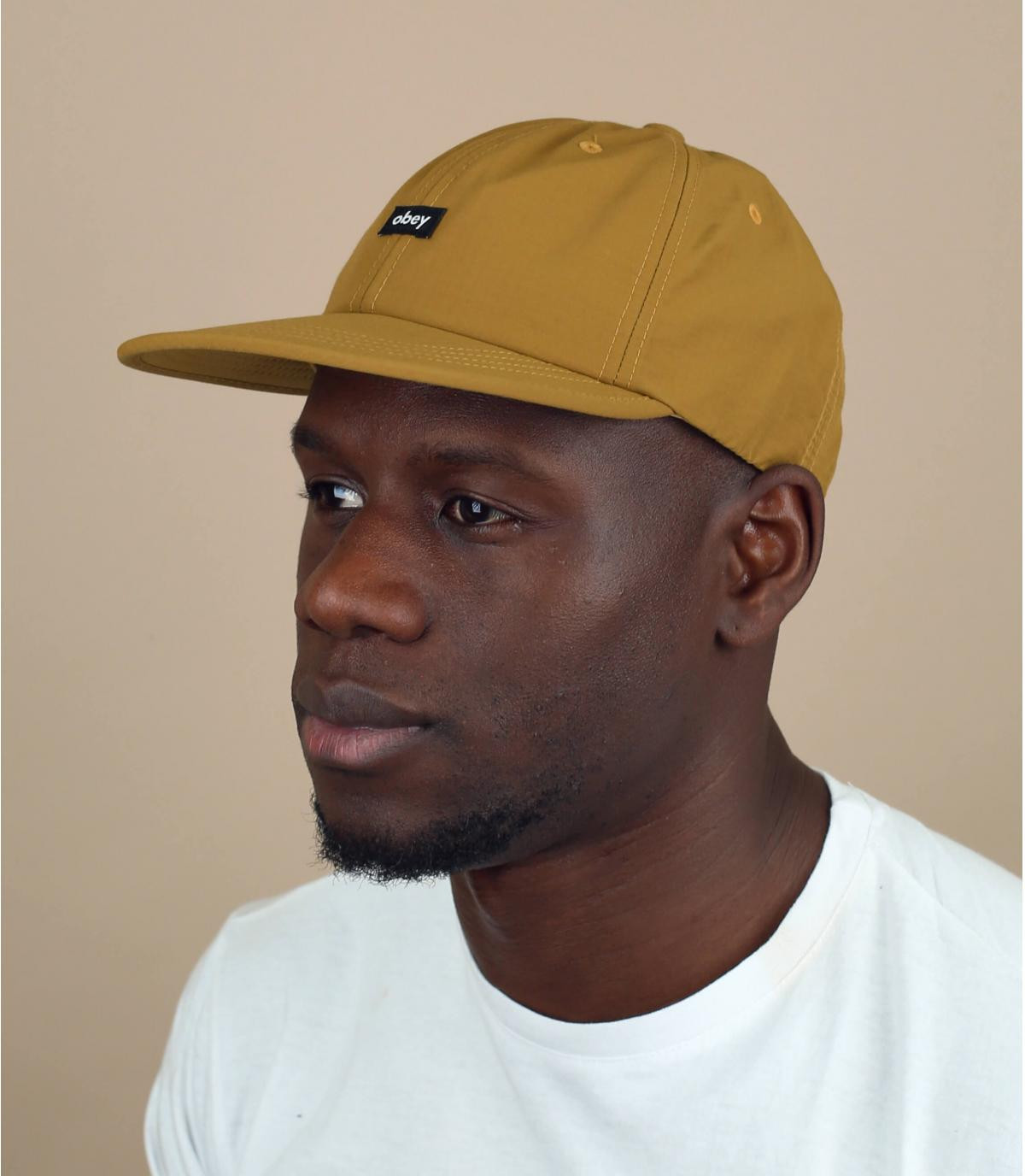 beige Obey cap