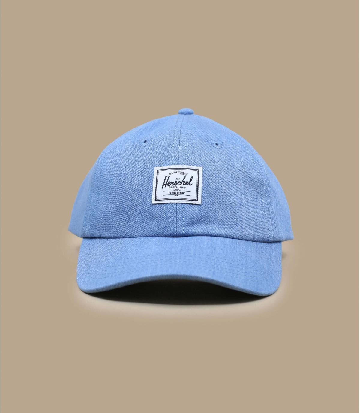 hemelsblauwe Herschel cap