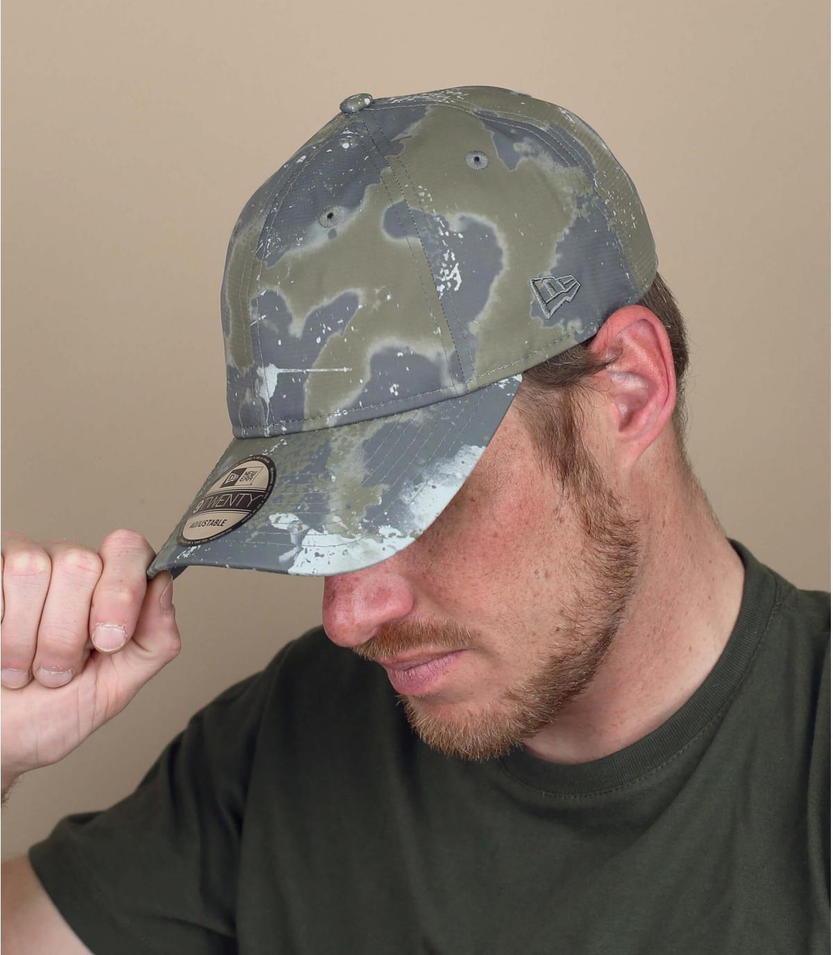New Era camouflage cap