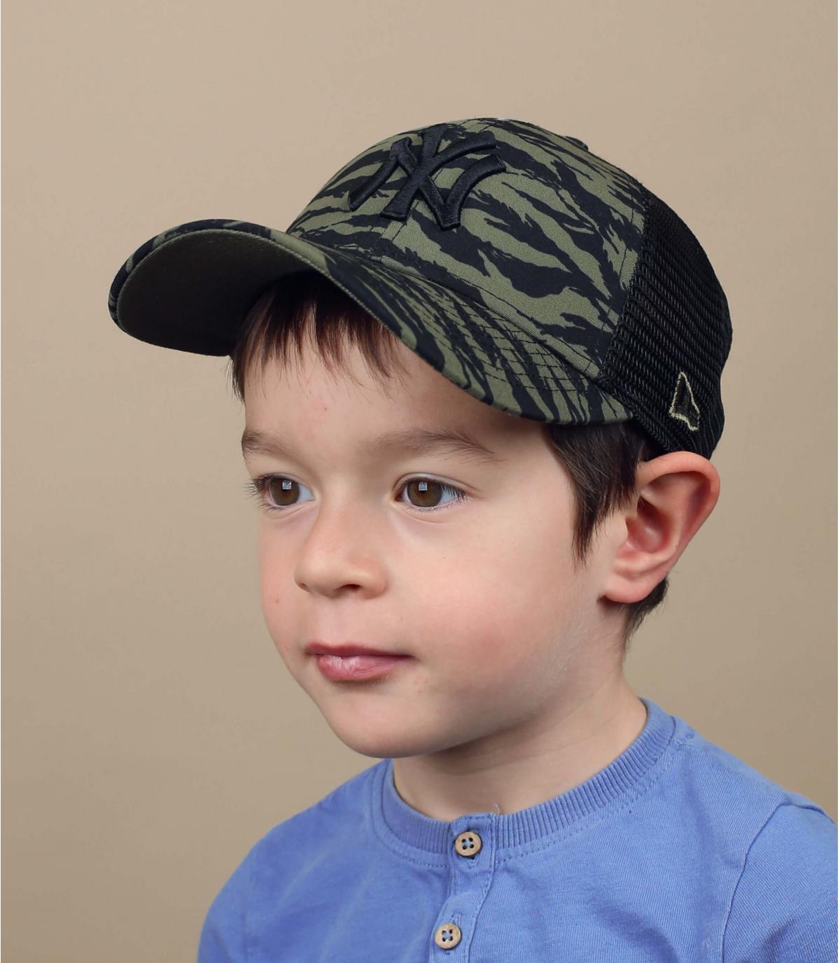groene NY trucker voor kinderen