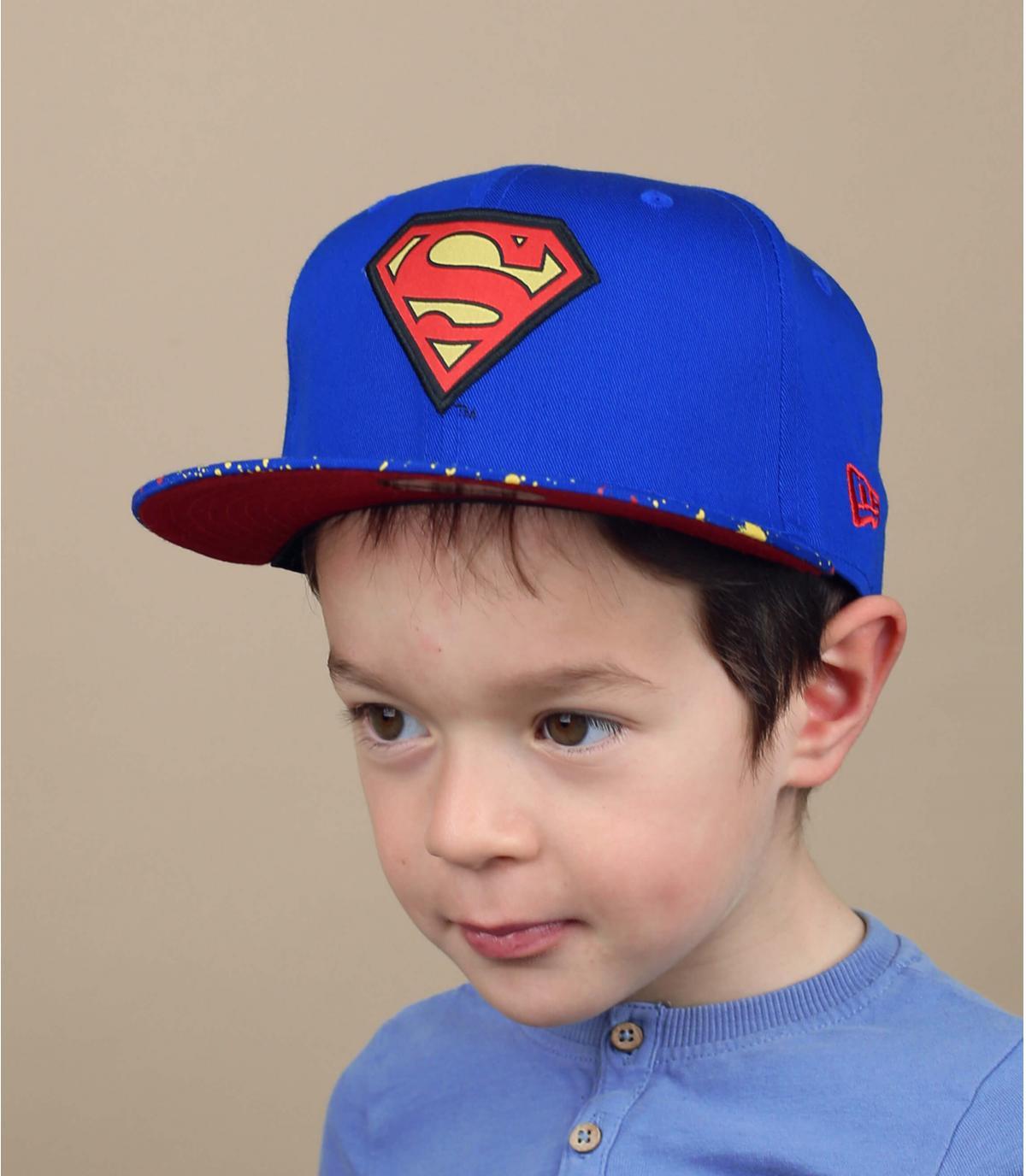 superman snapback print voor kinderen
