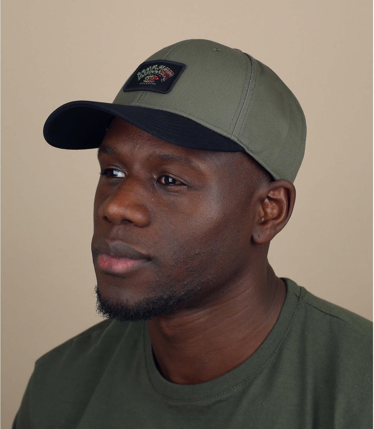 groene Billabong cap