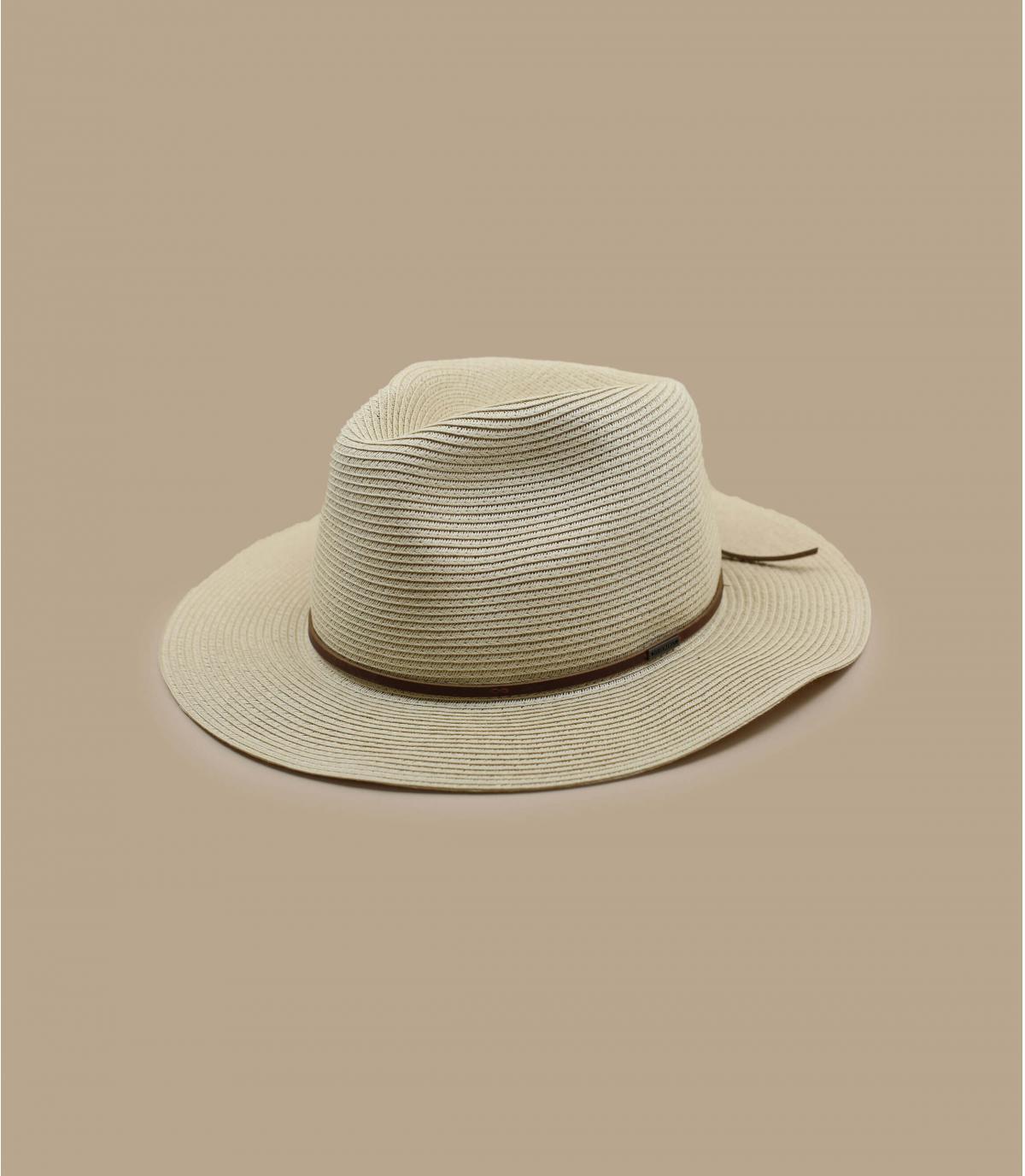 Brixton opvouwbare strooien hoed