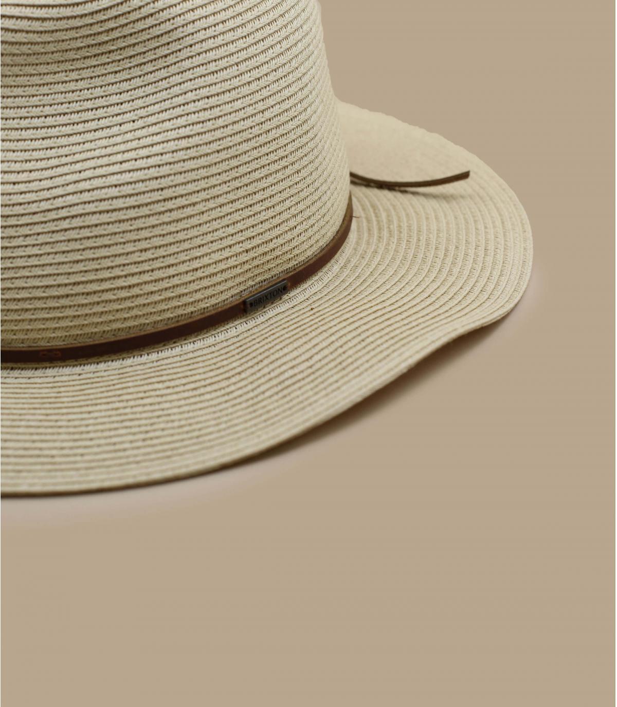 Details Wesley Straw Packable tan - afbeeling 3