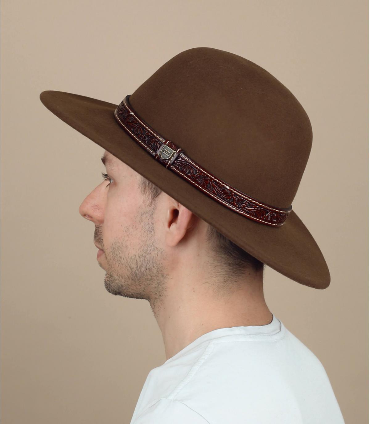 Brixton x Fender fluwelen hoed