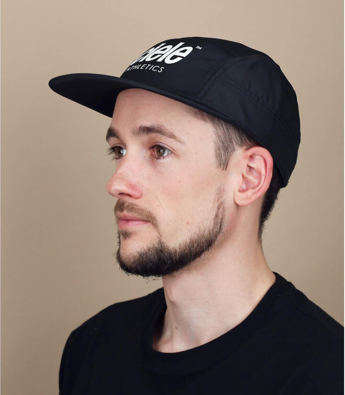Ciele zwarte running cap