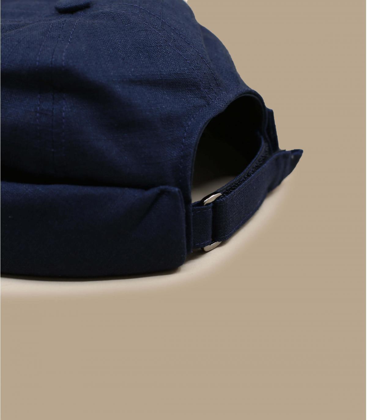 Details Cooper Linen navy - afbeeling 3