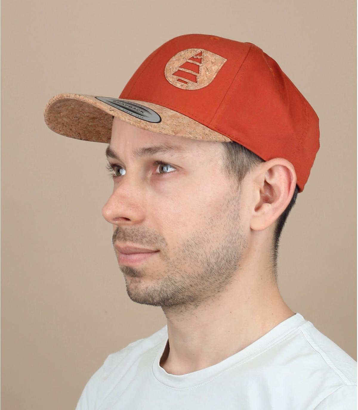Picture oranje cap