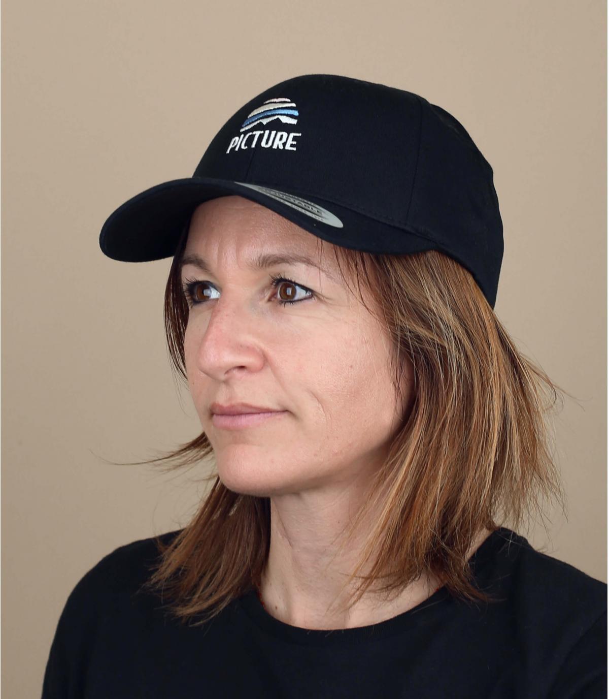 cap Picture zwart