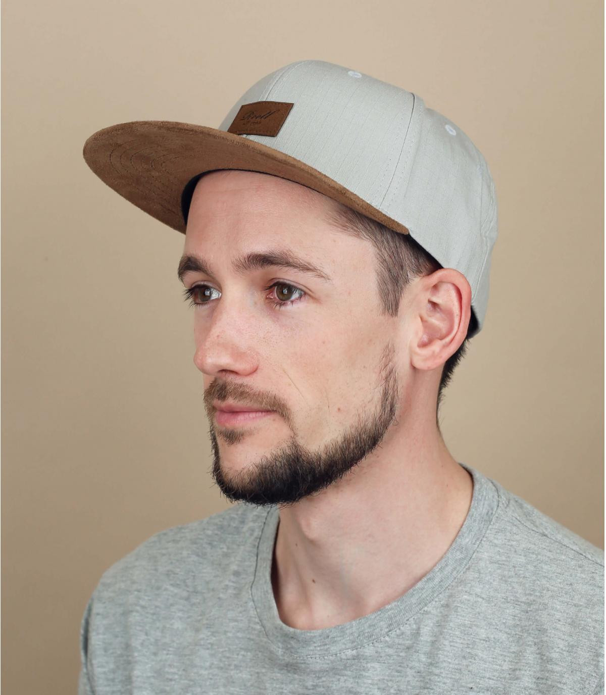 Lichtgrijze Reell cap