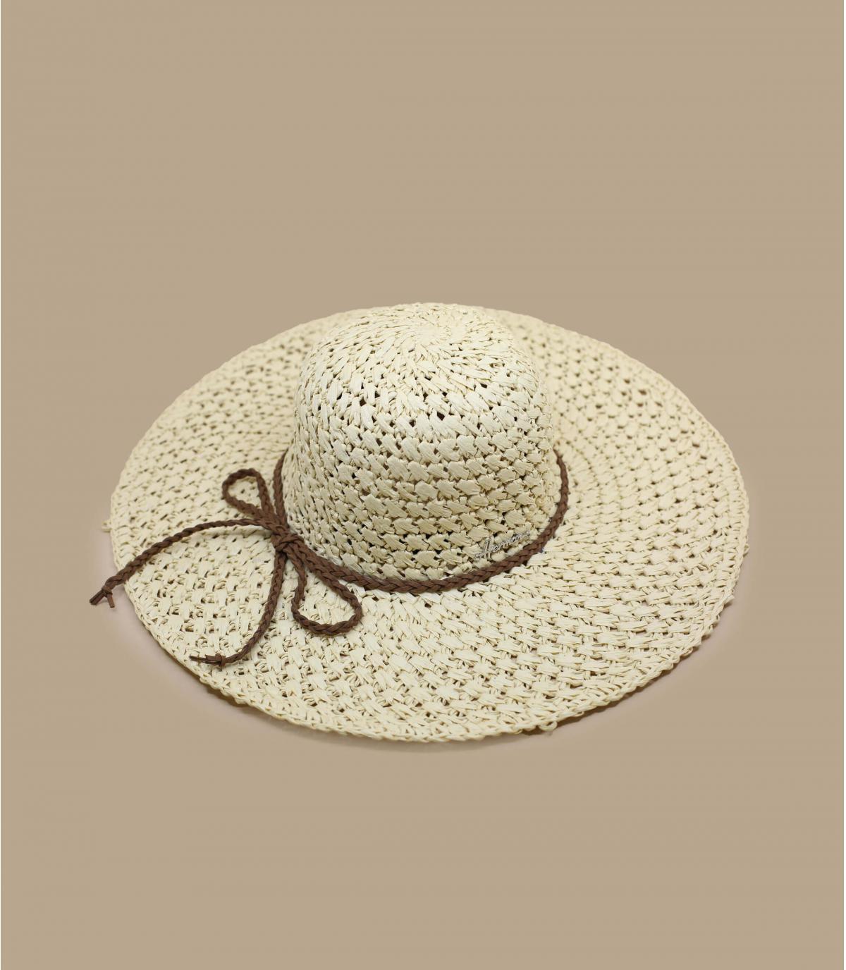 gehaakte strooien floppy hoed