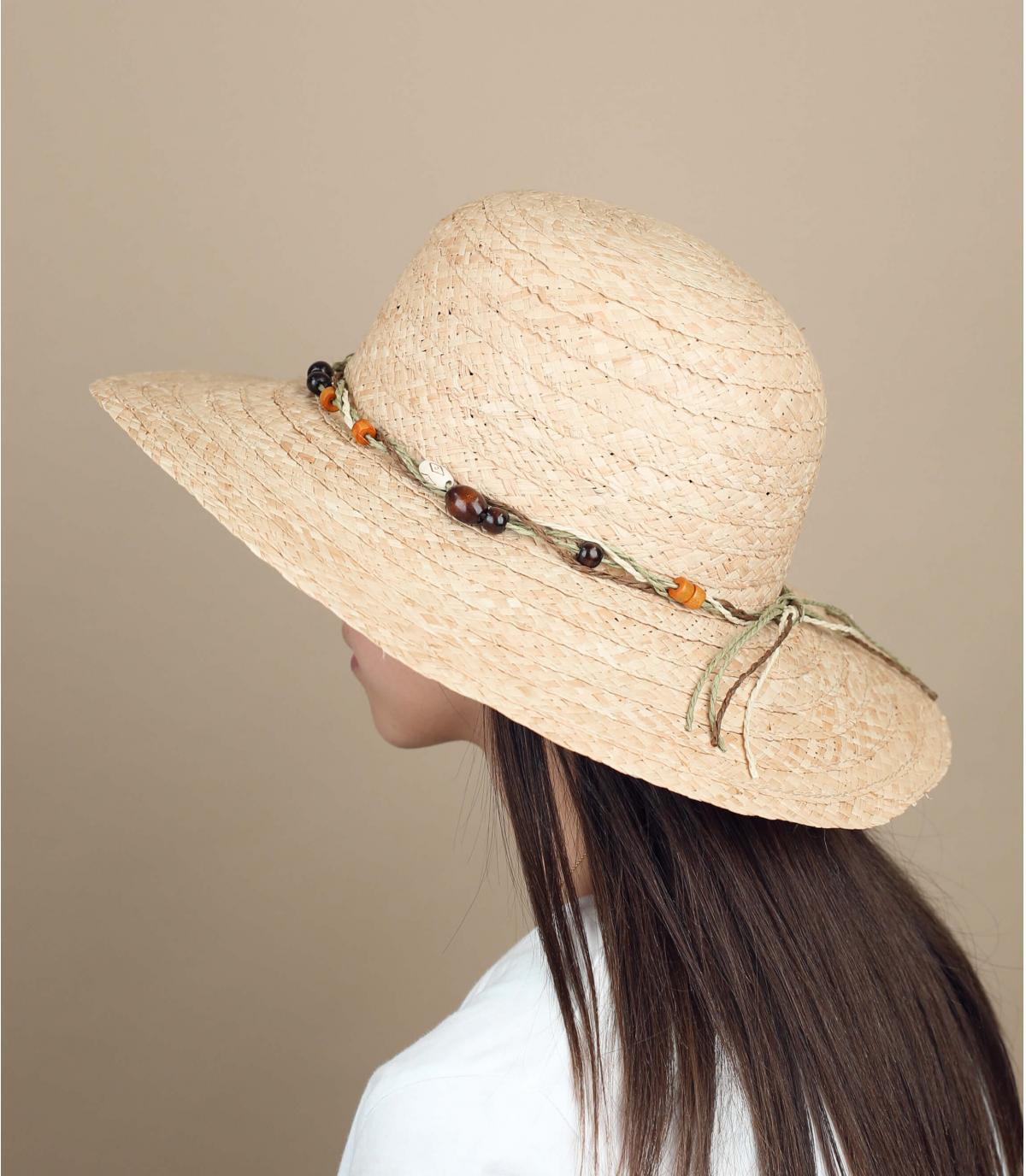 strooien hoed kralen