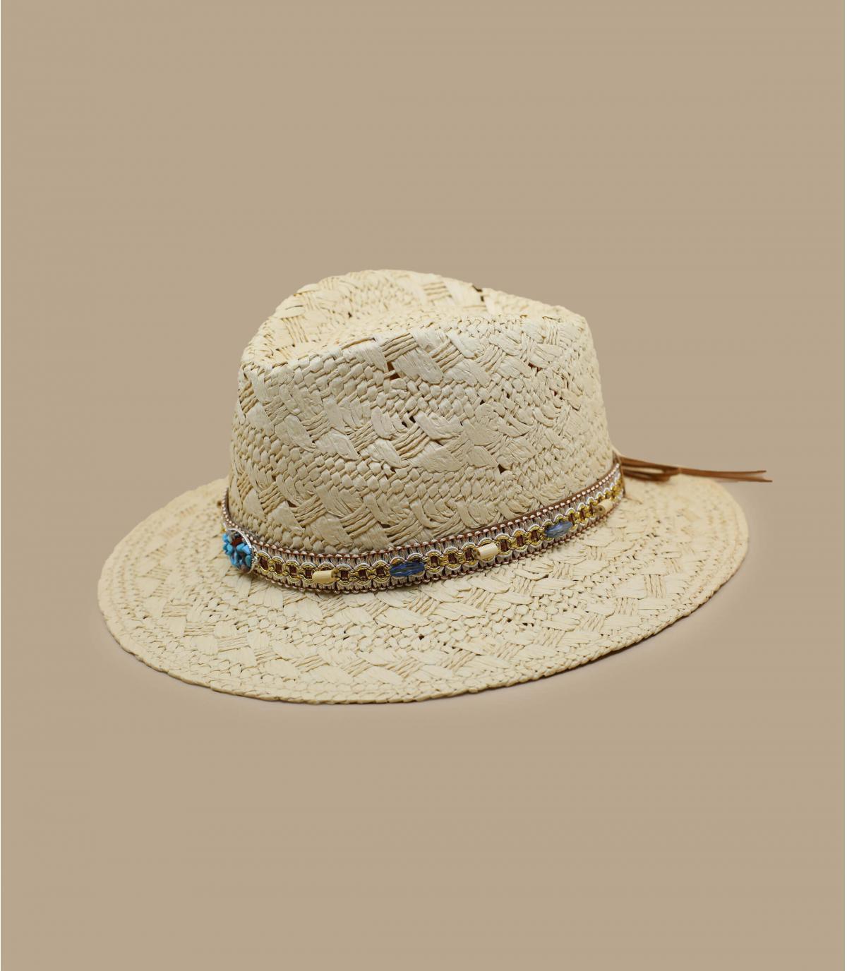 fancy strooien hoed