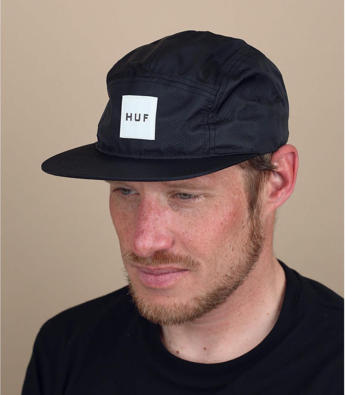 zwarte 5 paneel Huf