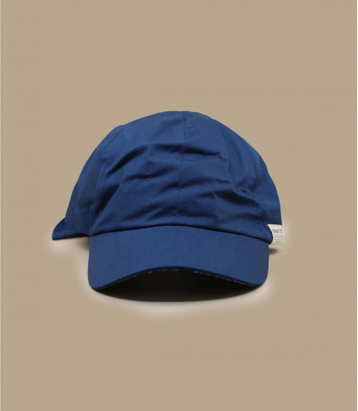 marineblauwe damespet
