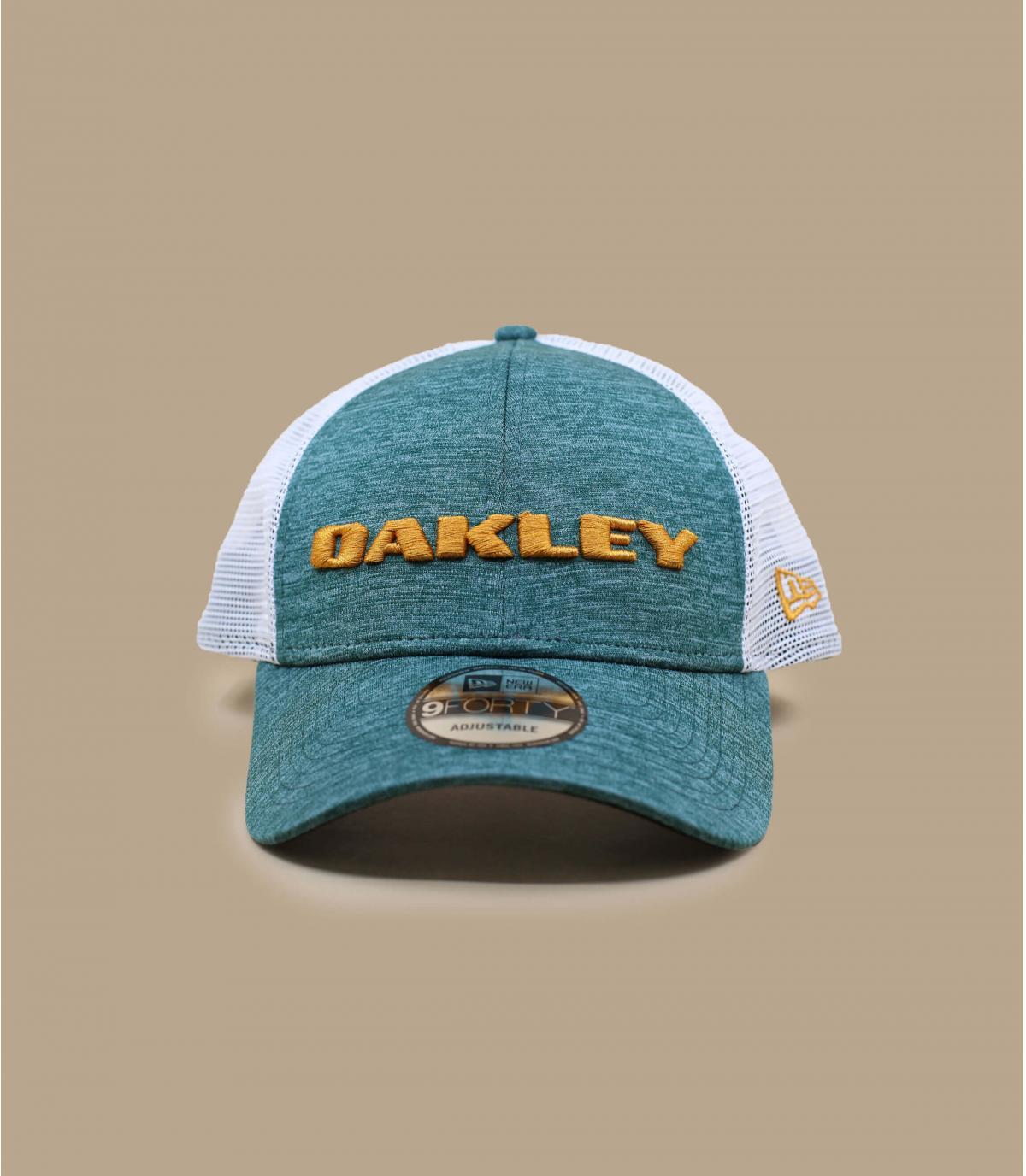 Oakley groene truckercap
