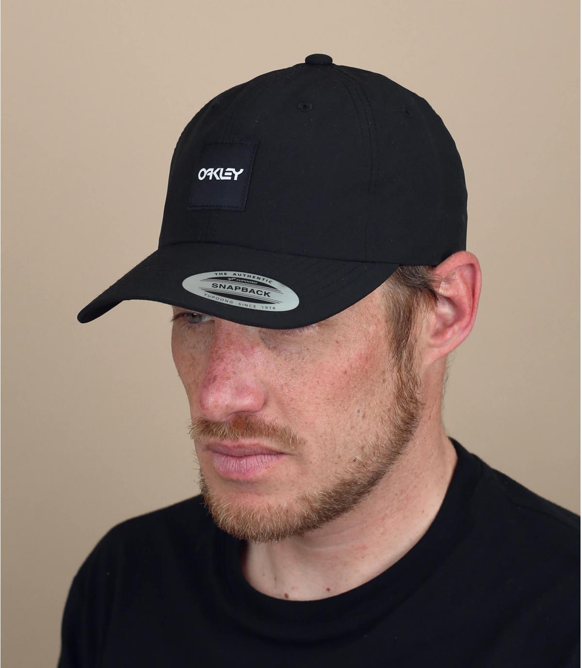zwarte Oakley cap