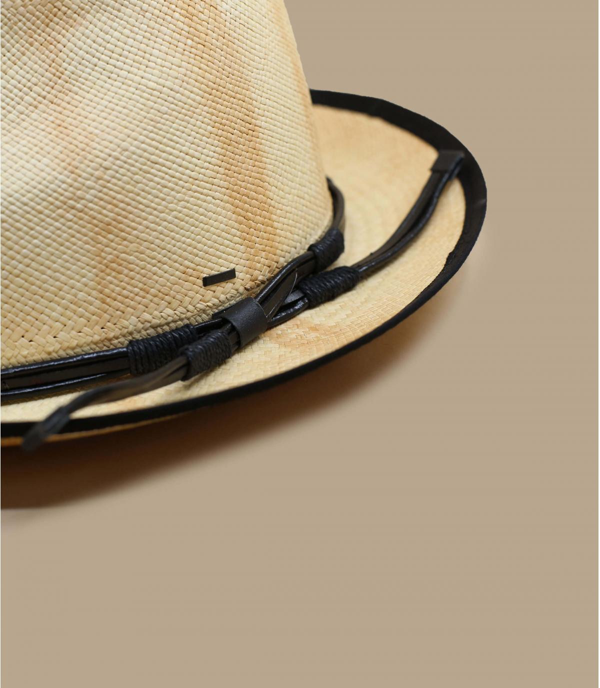 Details Clafin Panama tea stain - afbeeling 3
