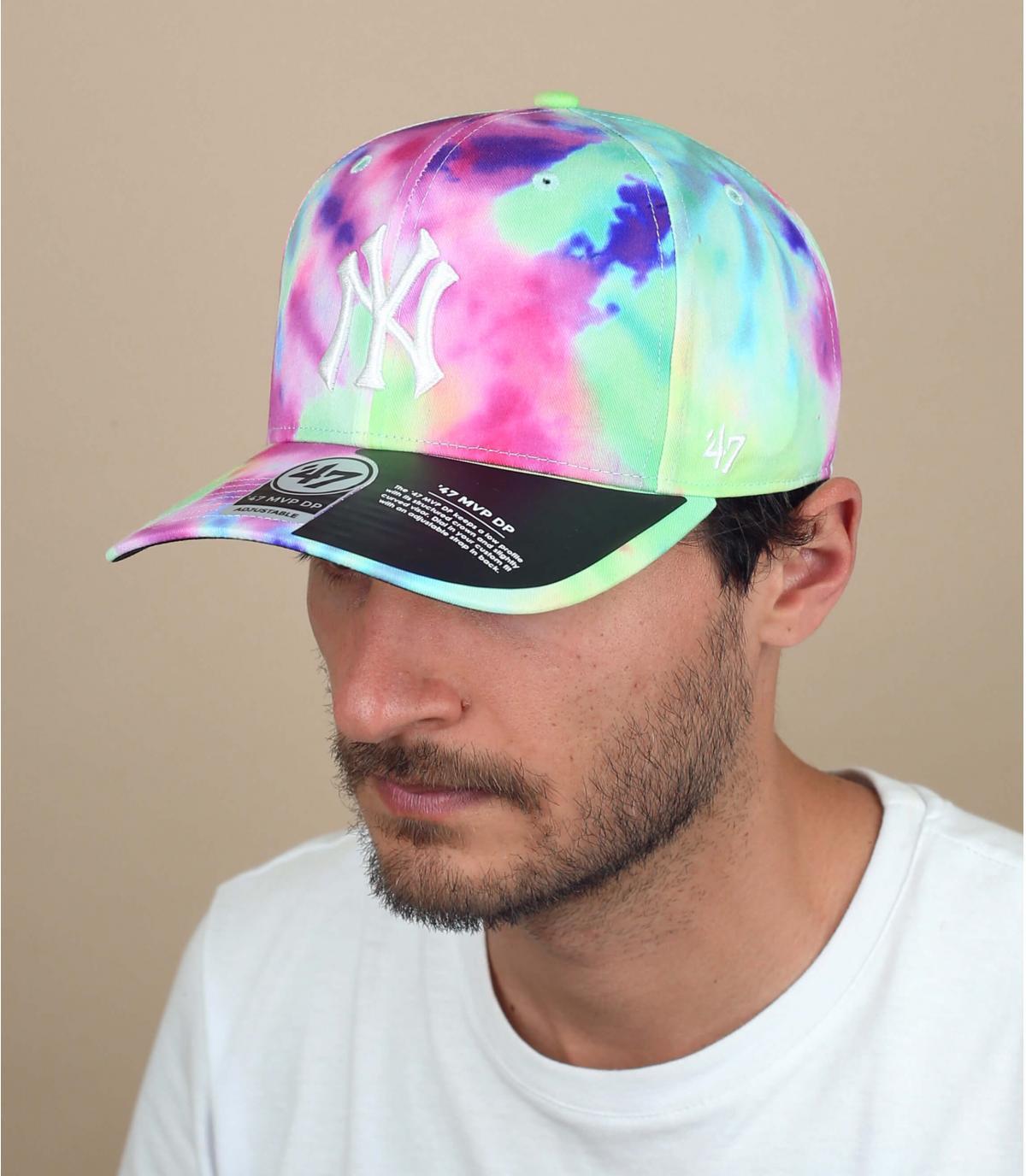 NY tie dye '47 cap