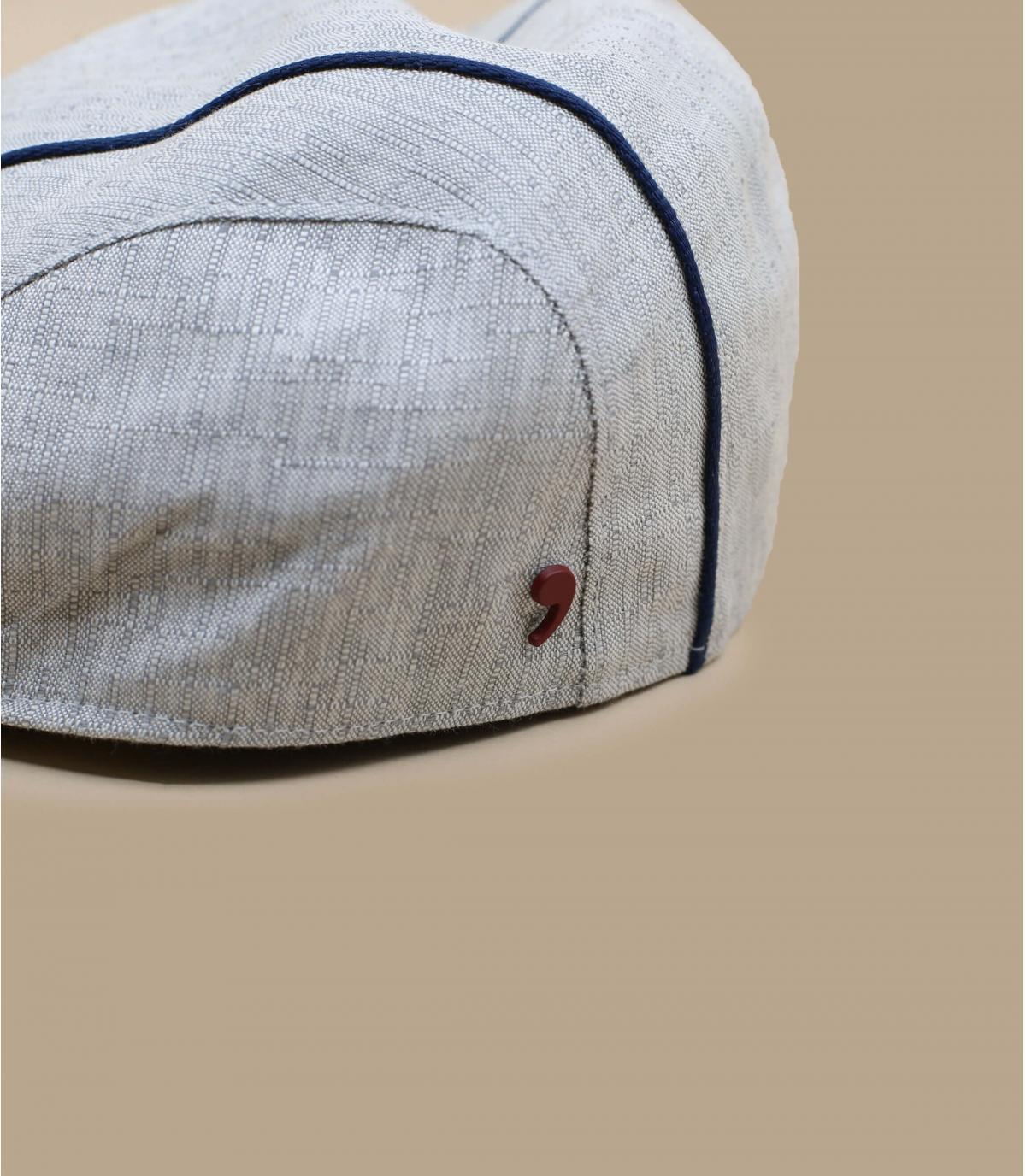 grijs gestreepte baret