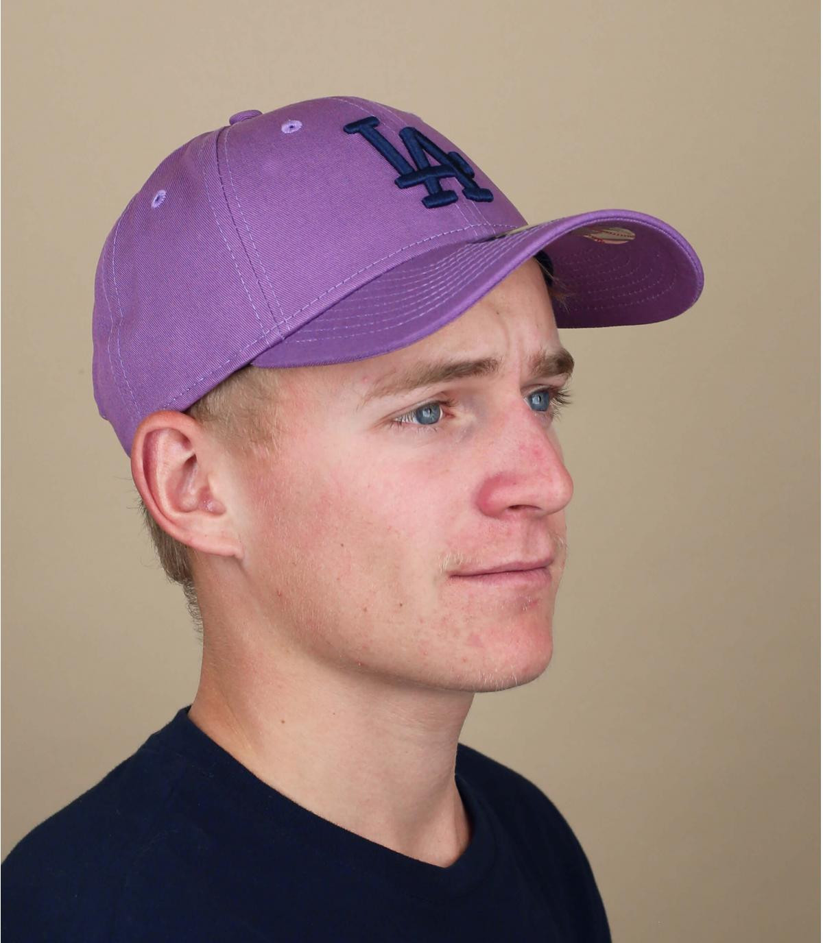 paarse LA cap