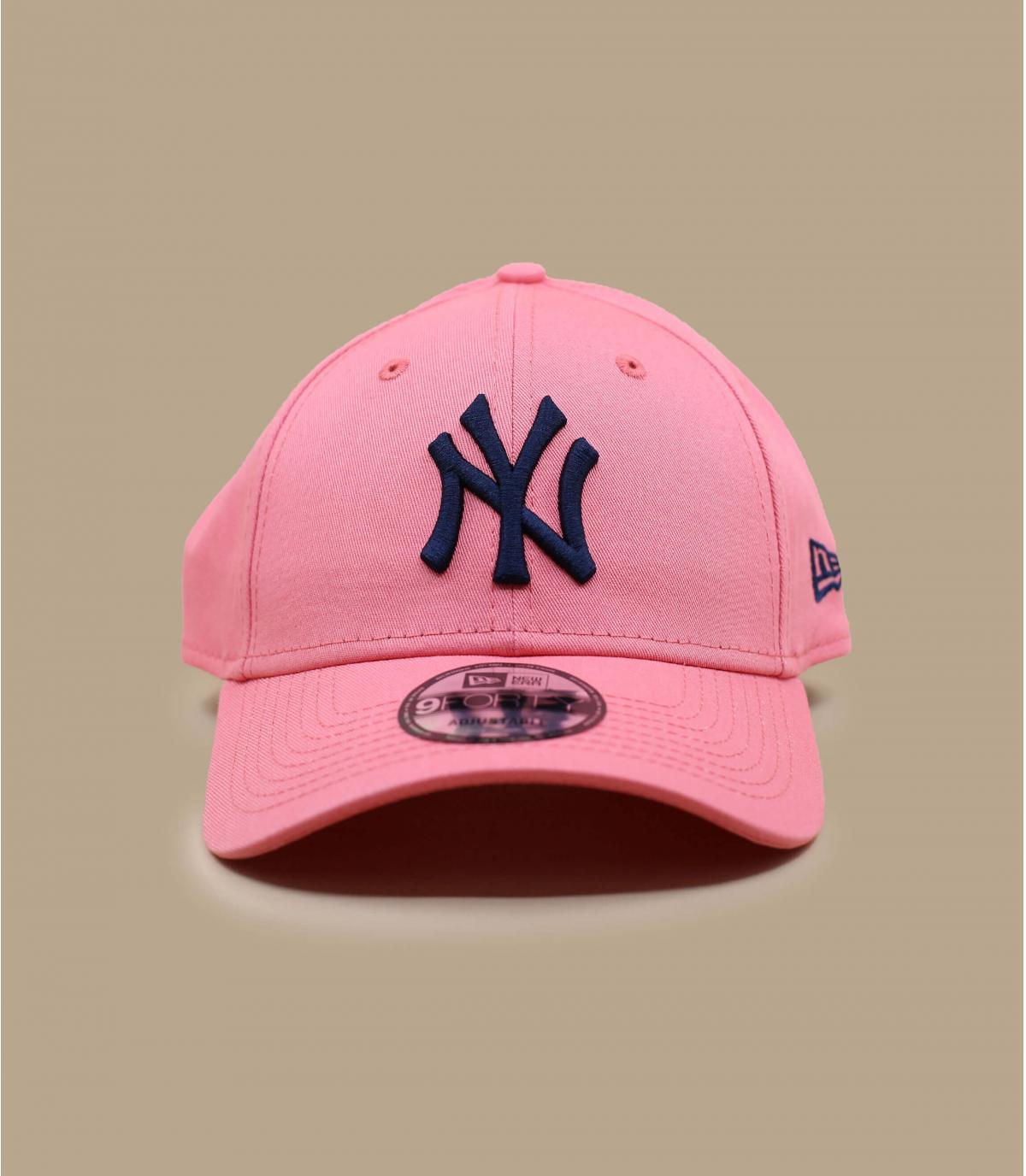 roze blauwe NY cap