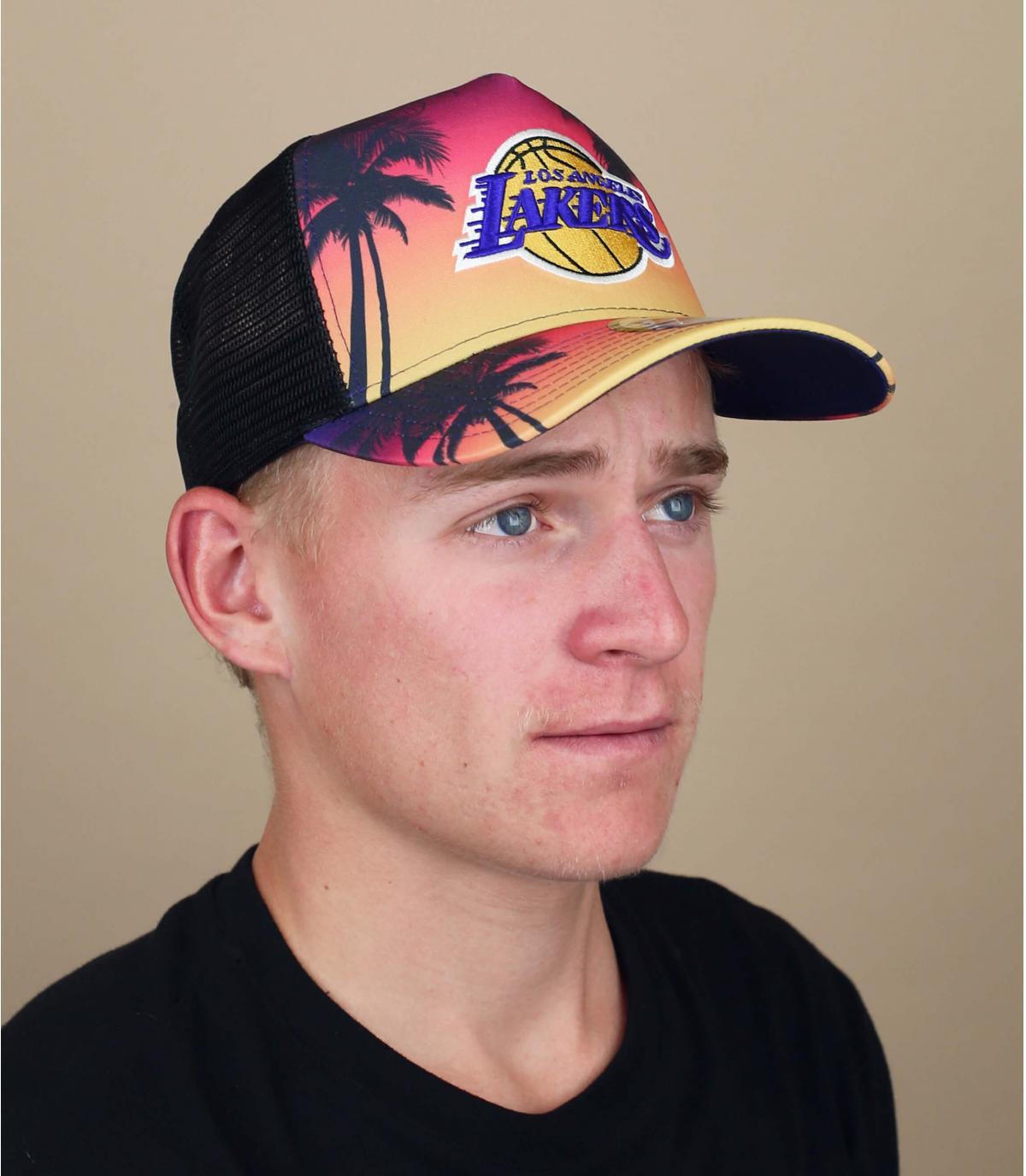 trucker Lakers palmbomen