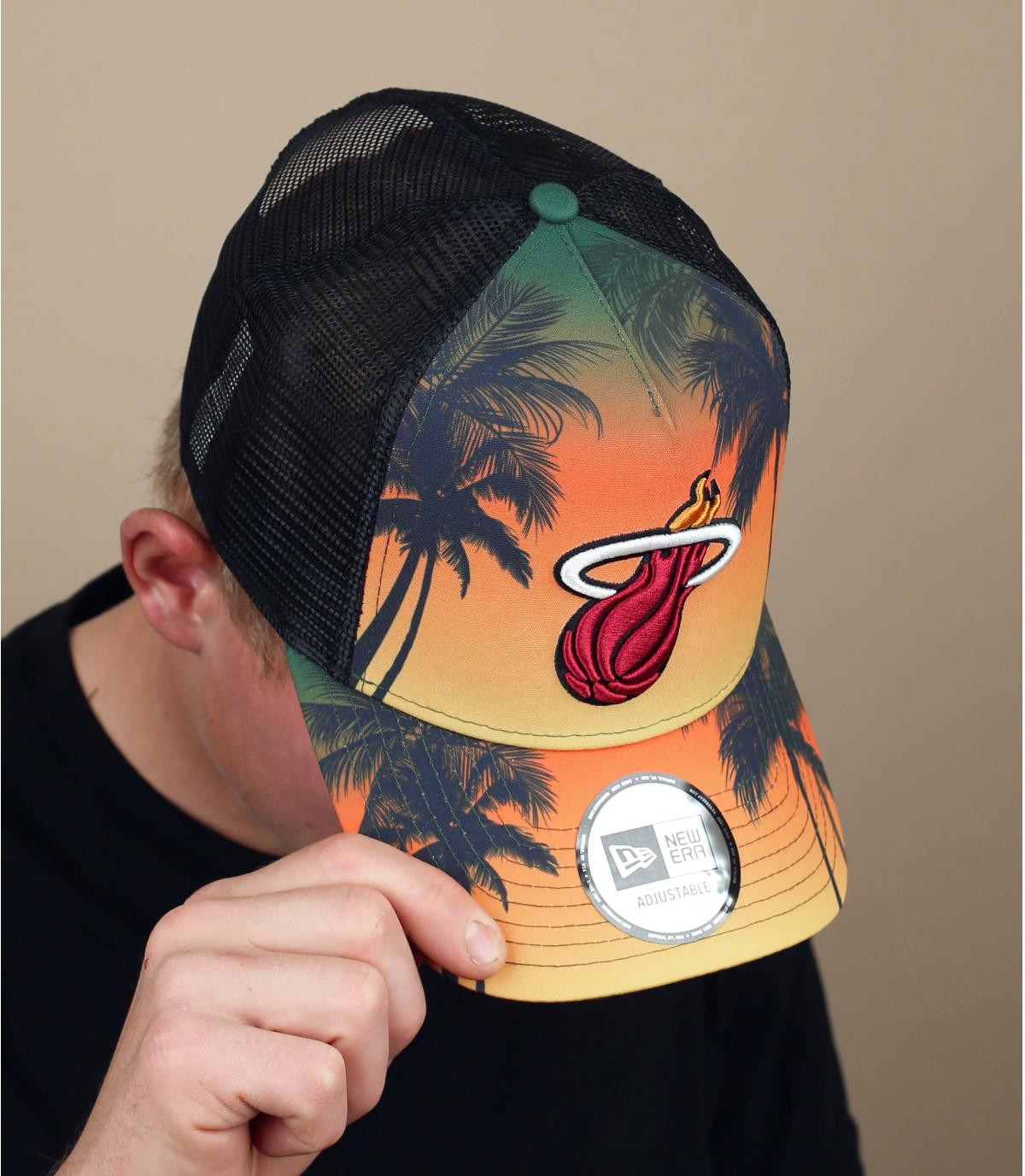 Miami Heats palmbomen trucker