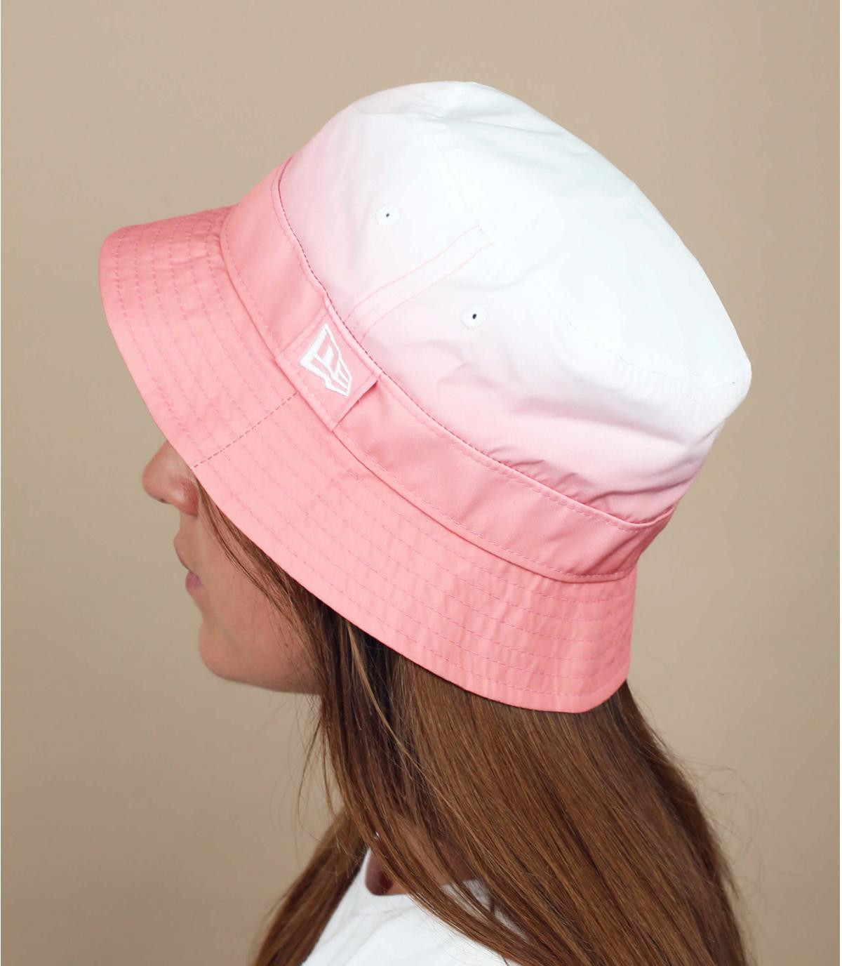 New Era vervaagde roze bob