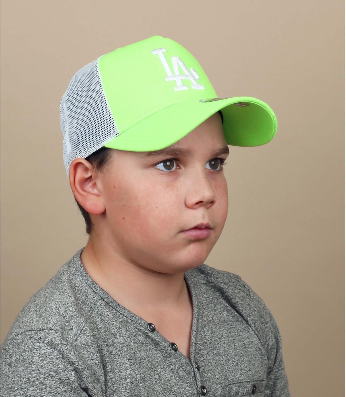 groene LA kindertrucker