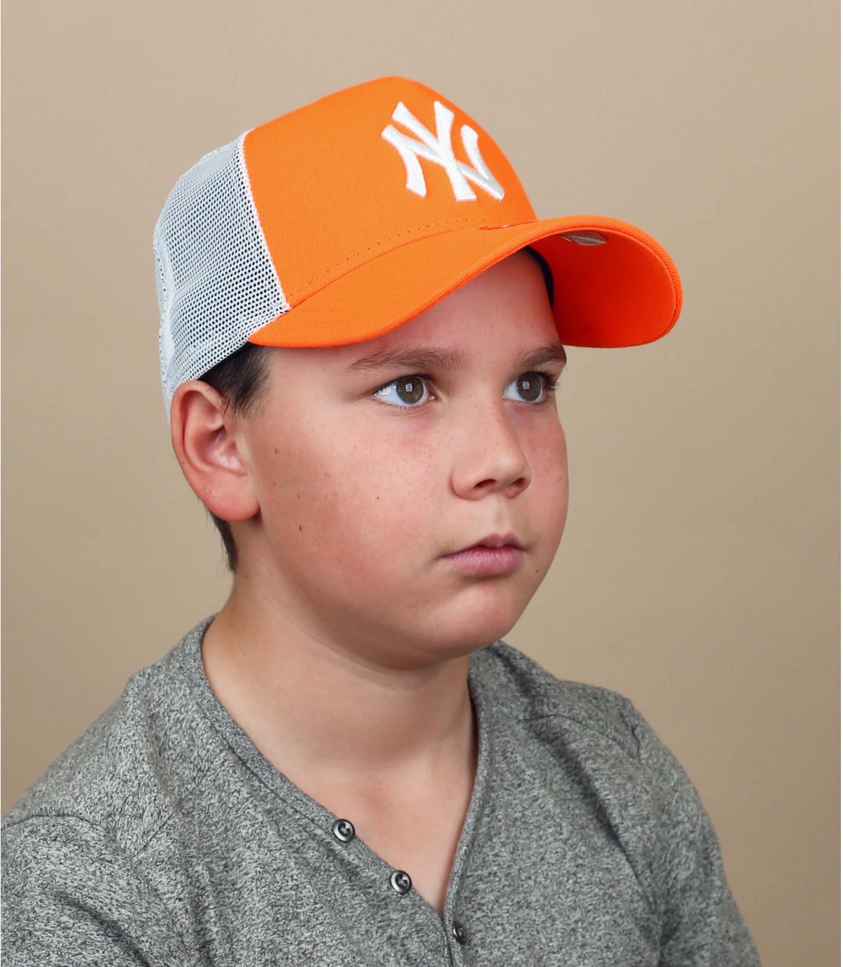 oranje NY kindertrucker