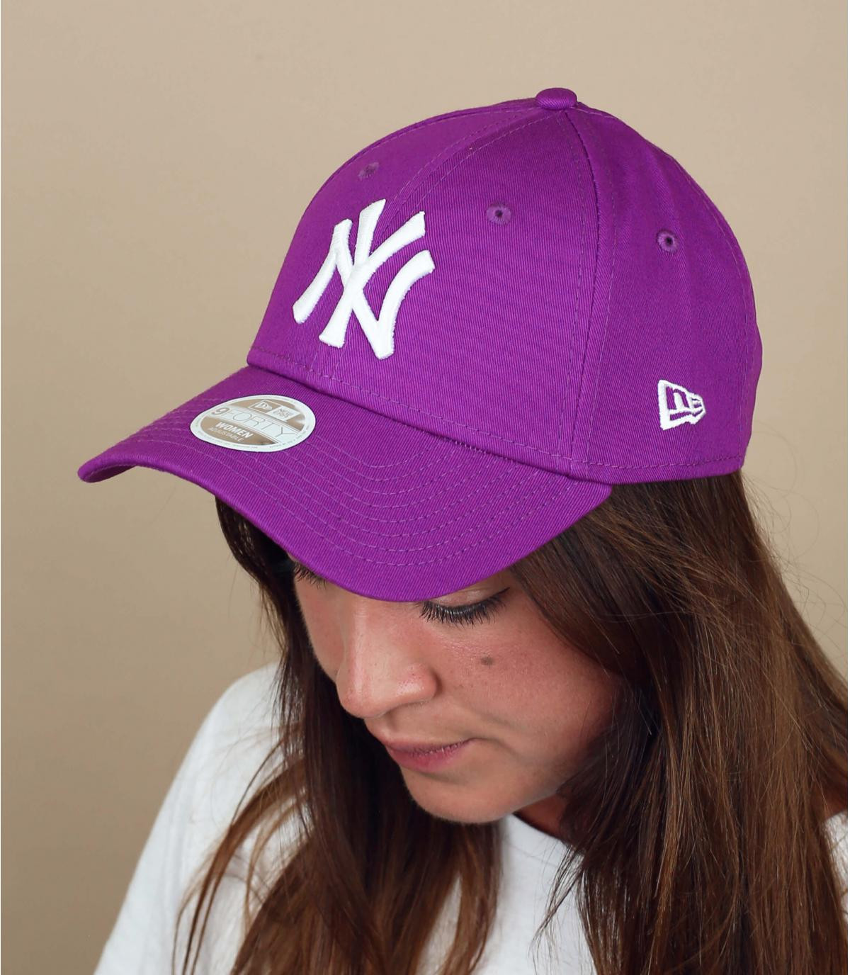 paarse NY damescap