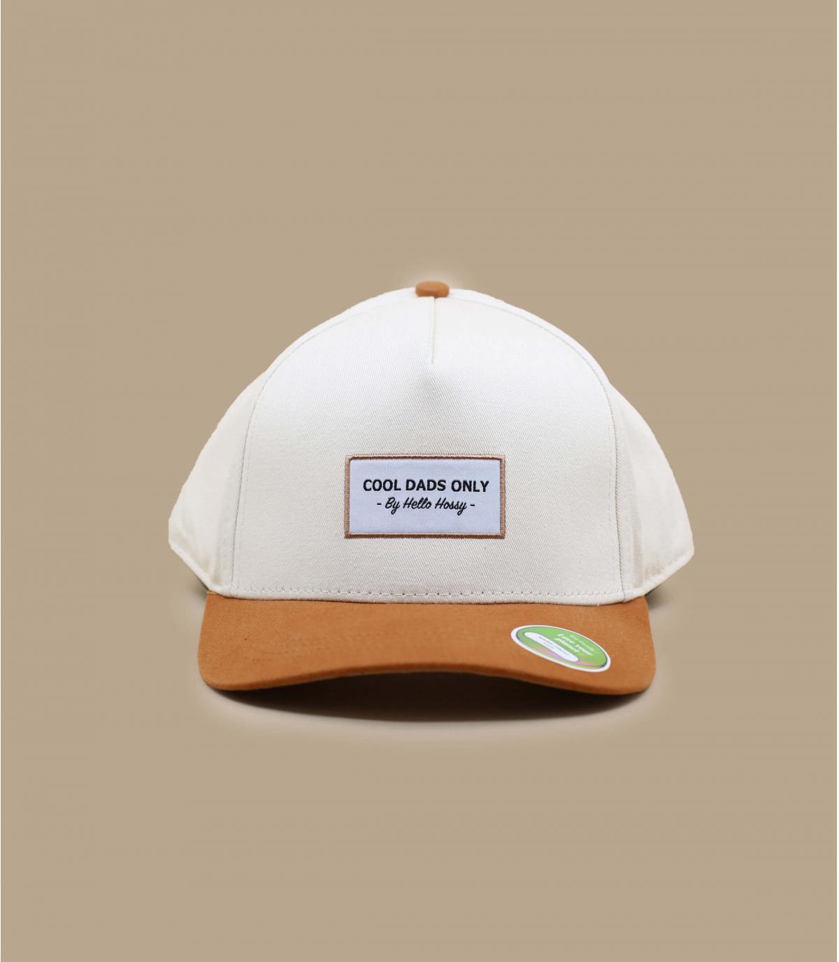 beige Hello Hossy cap volwassenen