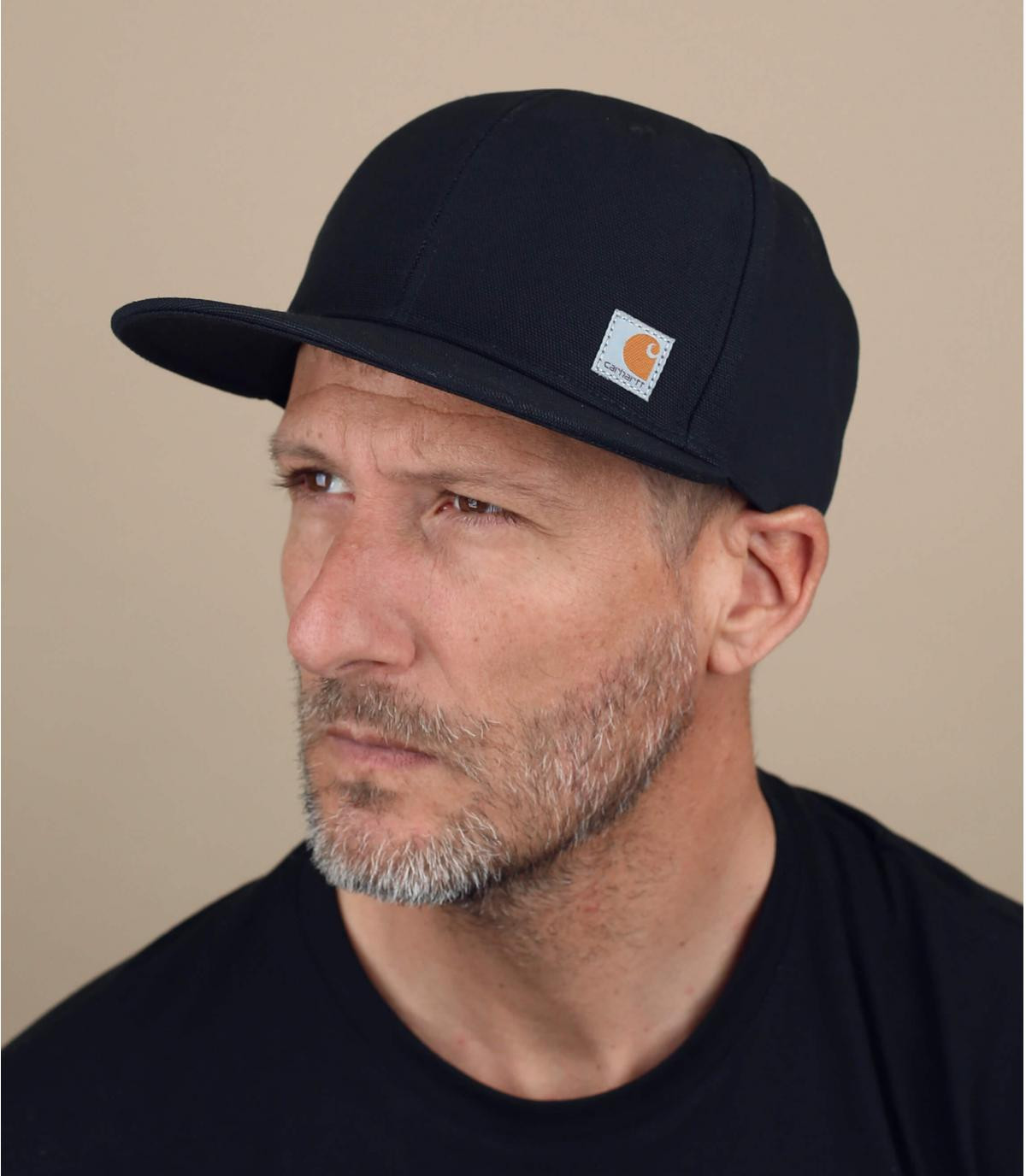 Zwarte Carhartt cap