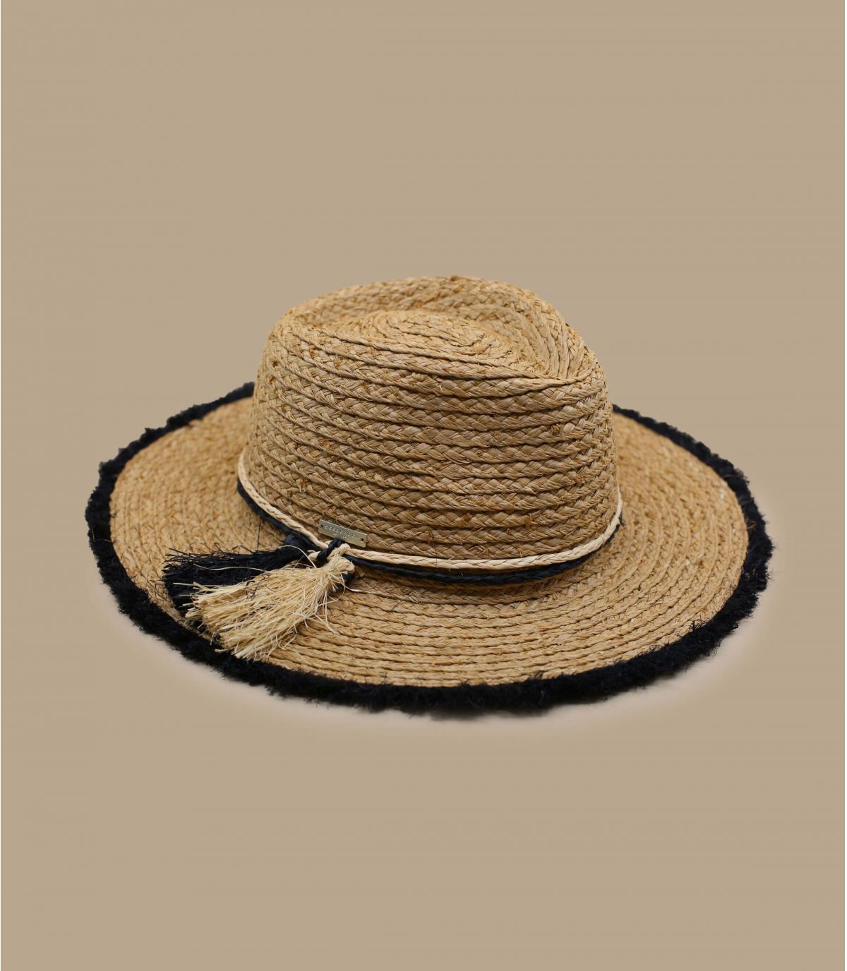 strooien hoed franje
