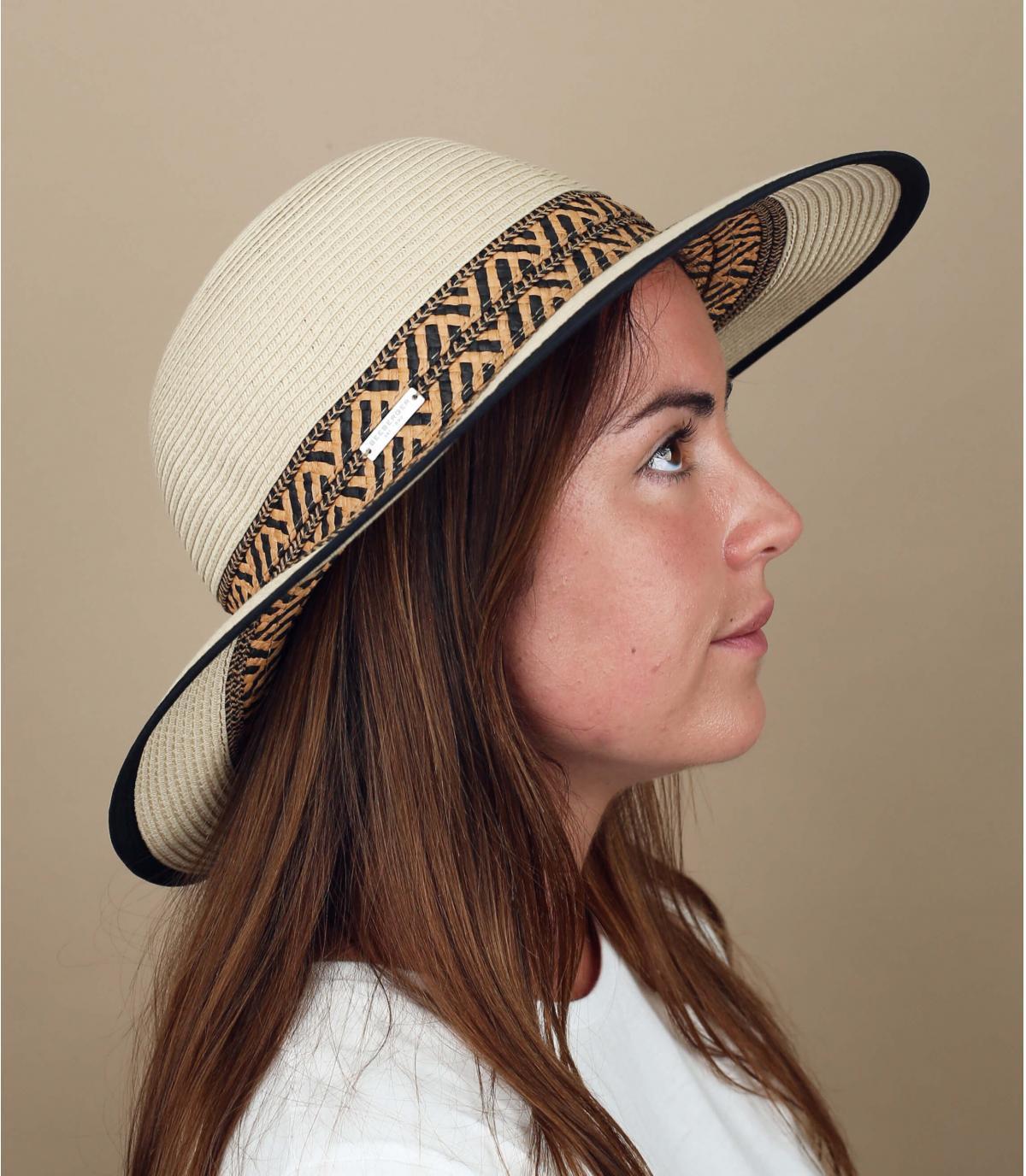 hoed geometrisch patroon