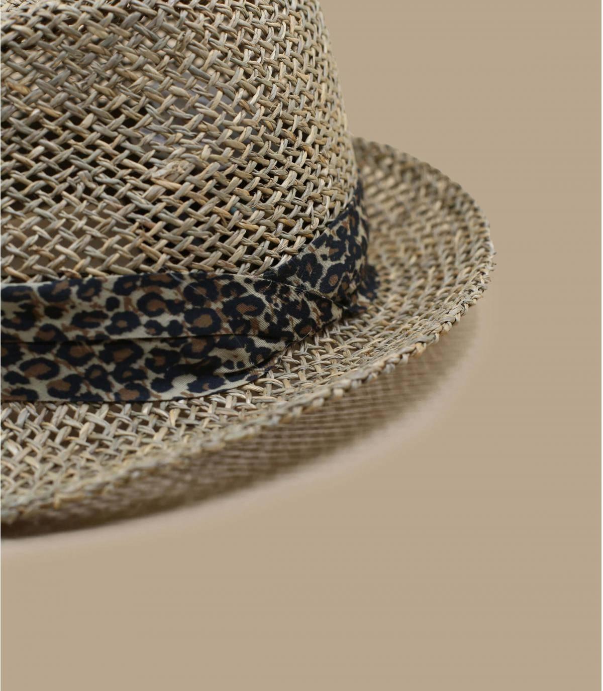 Details Trilby Seagras sand leopard - afbeeling 3
