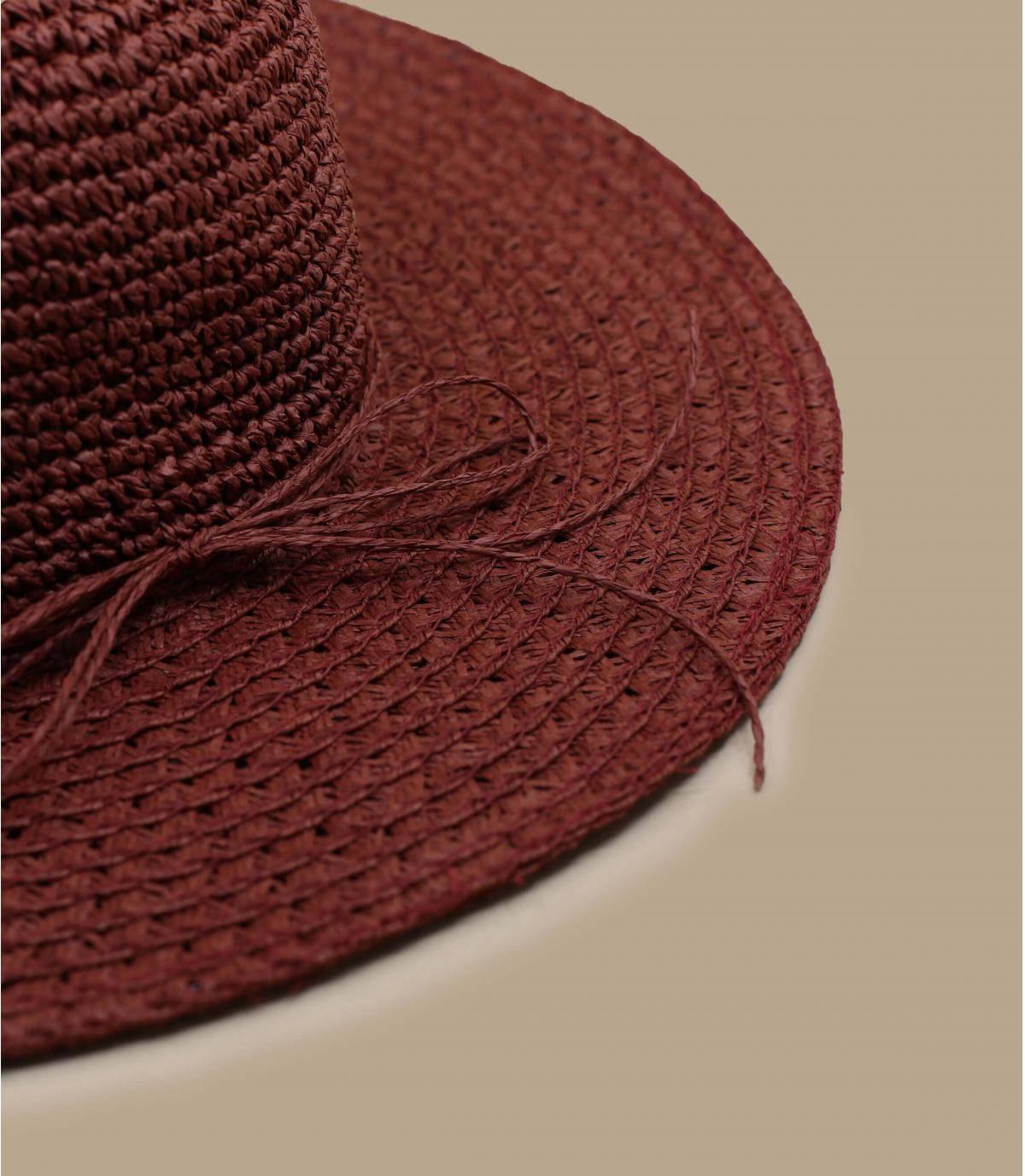 Details Paper Crochet Floppy cassis - afbeeling 3