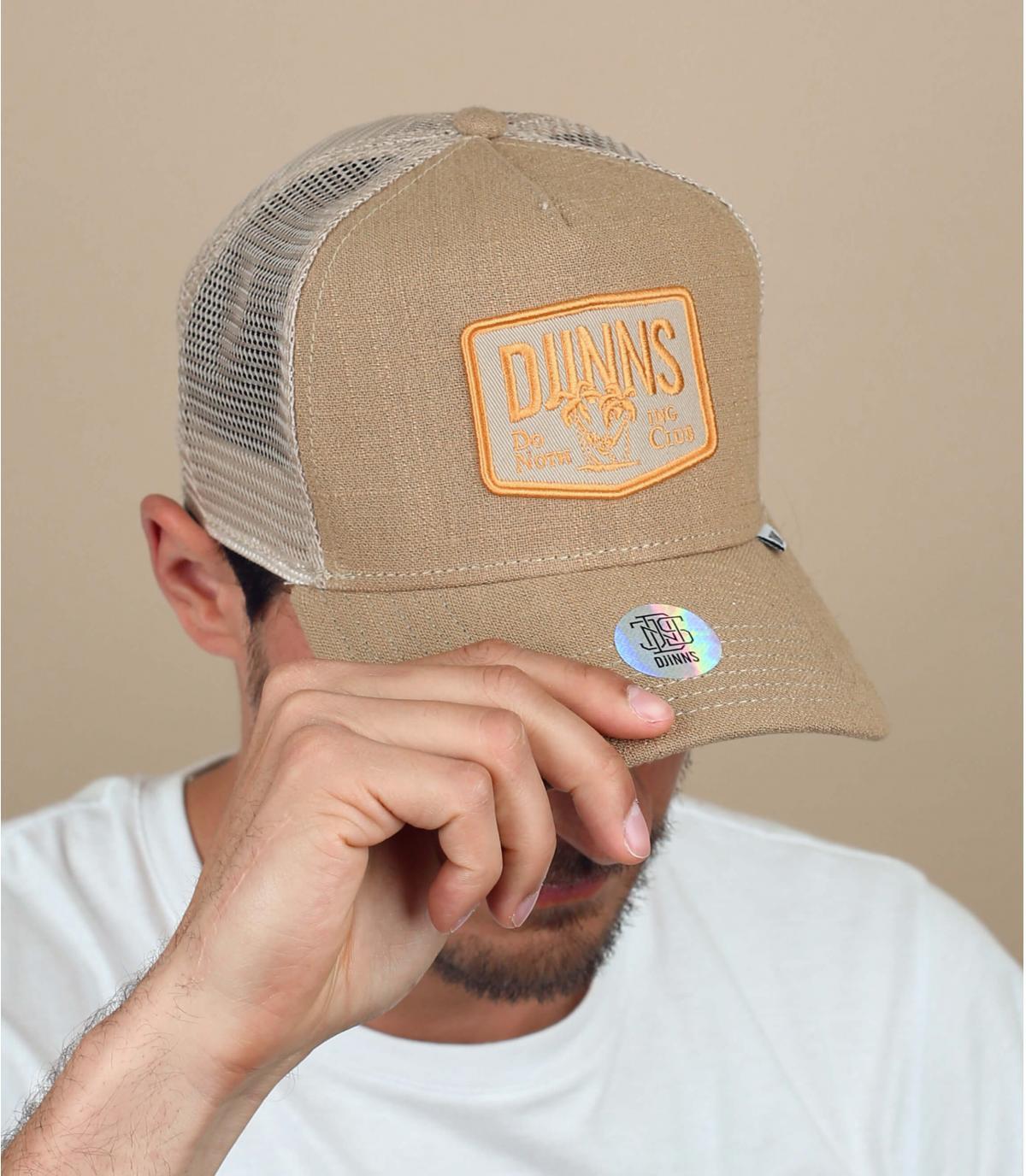 Djinns beige palmboom cap