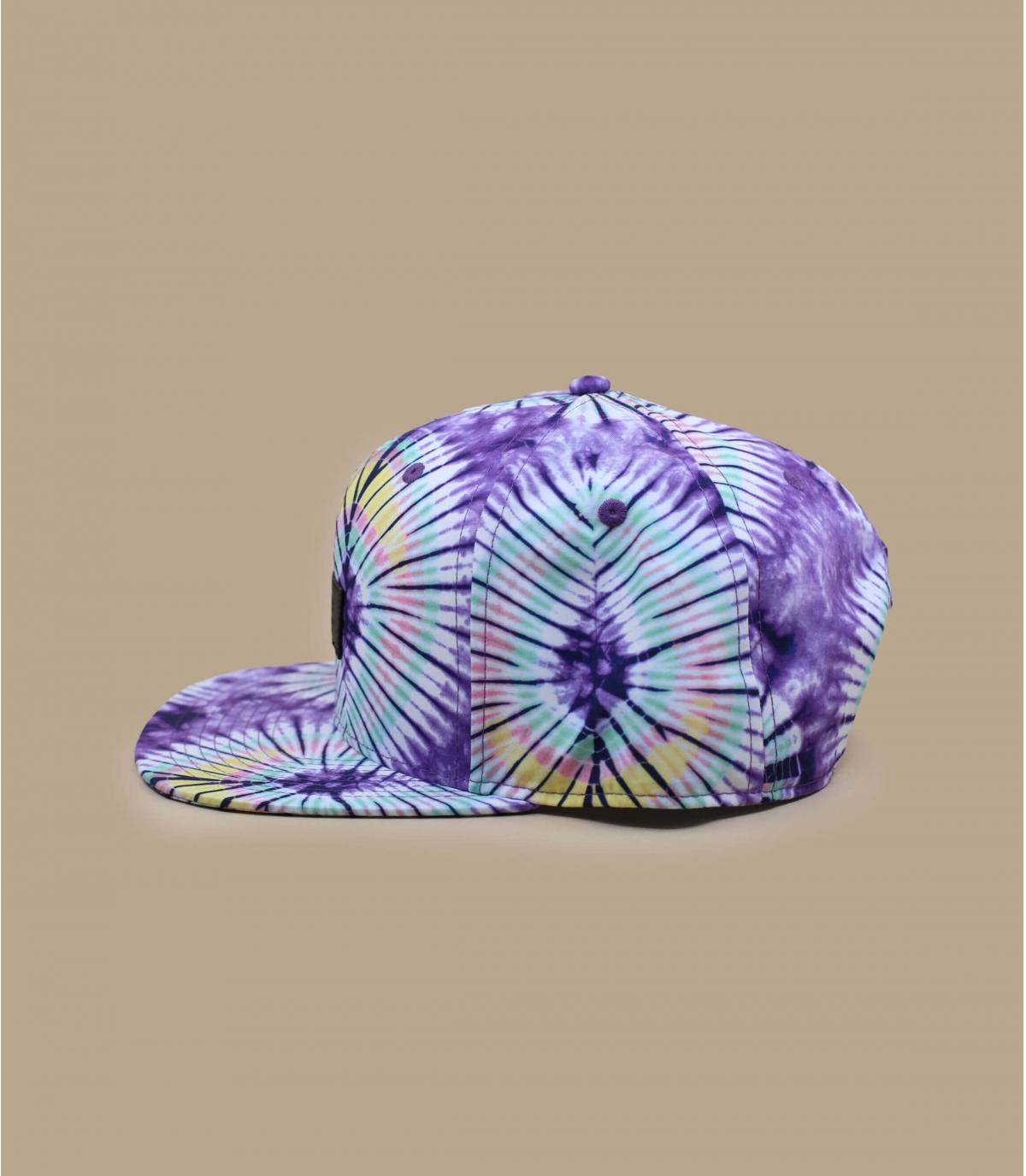 Details Snapback Laces 54 New Age Tie Dye purple - afbeeling 3
