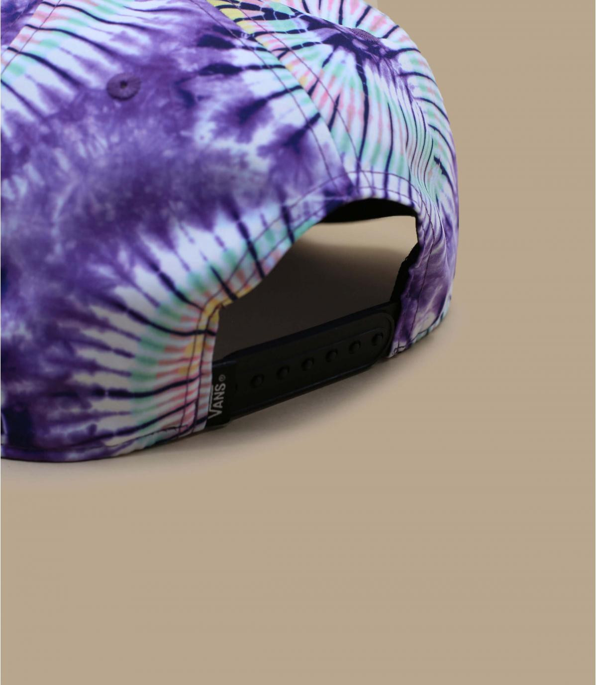 Details Snapback Laces 54 New Age Tie Dye purple - afbeeling 4