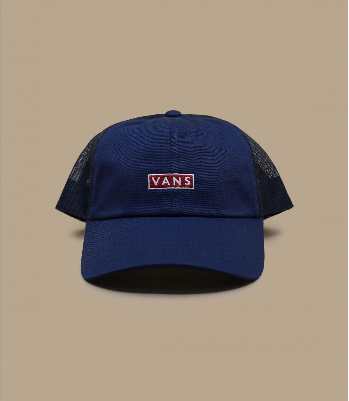 Blauwe Vans trucker