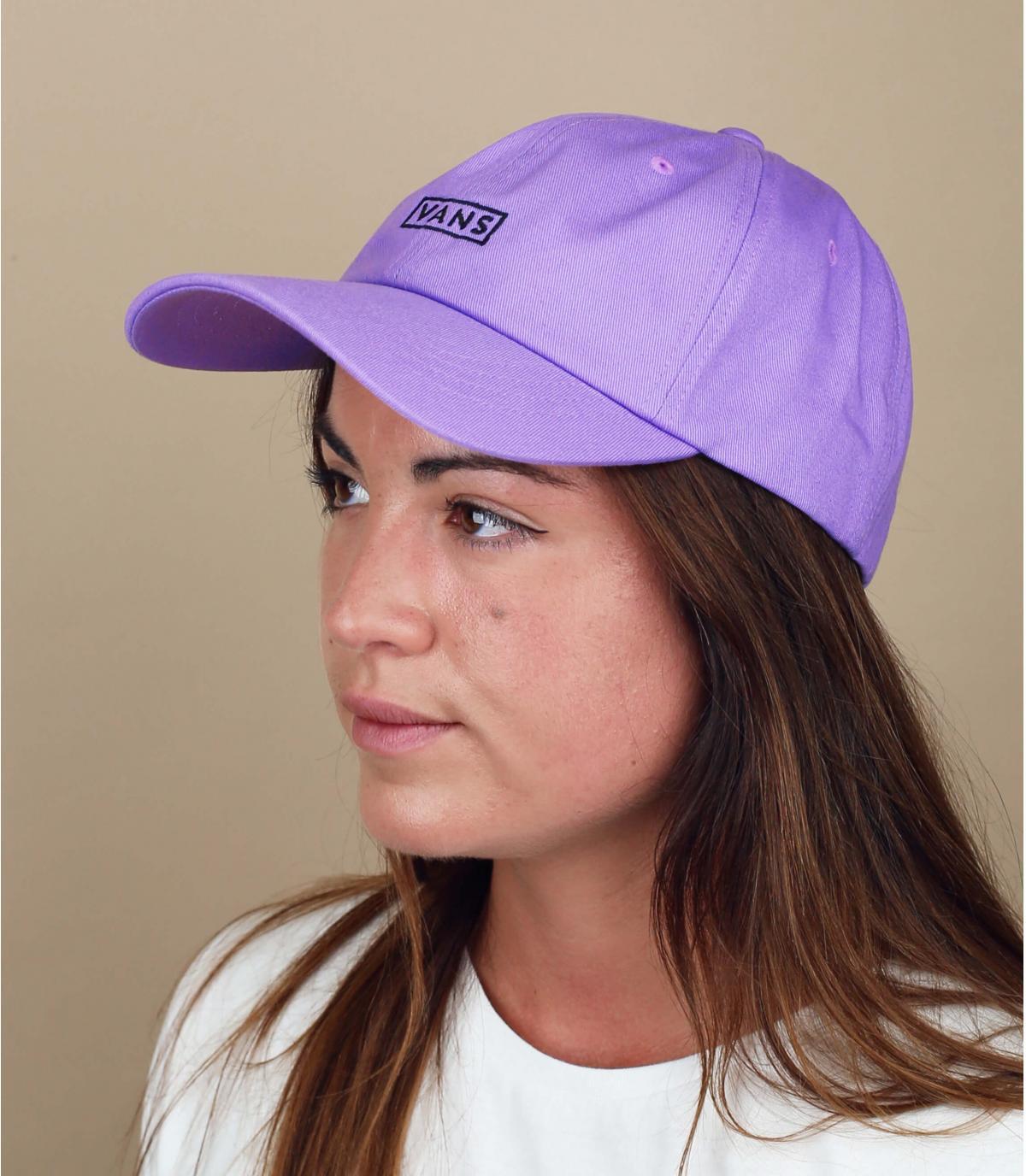 paarse Vans damescap