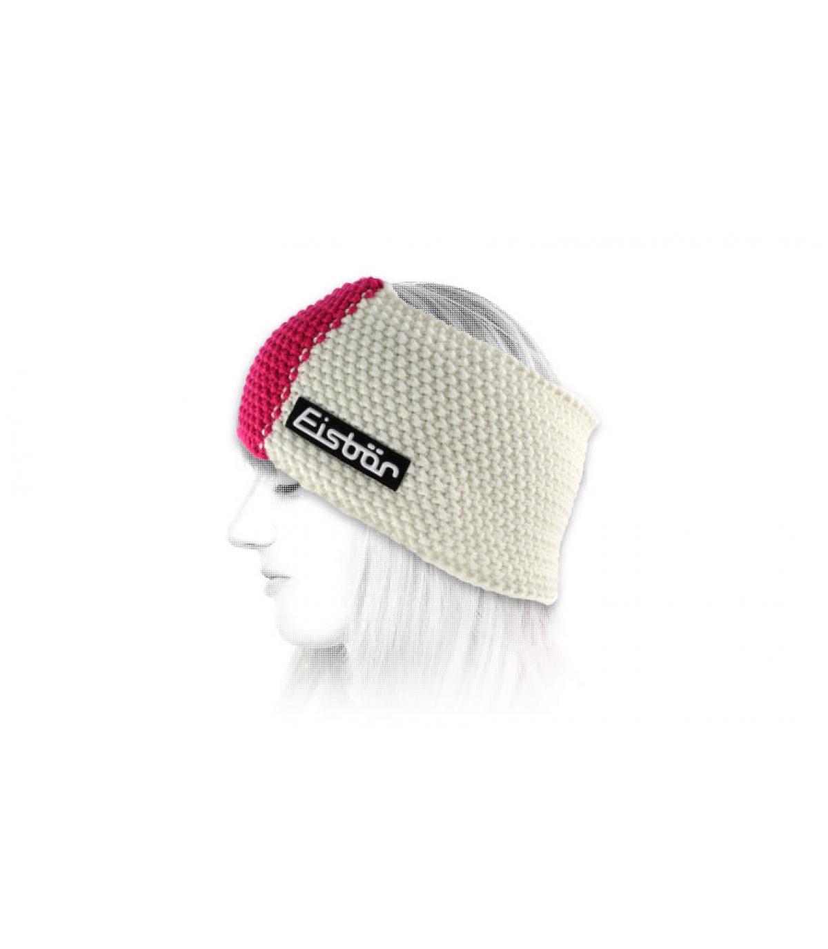 Eisbar roze hoofdband