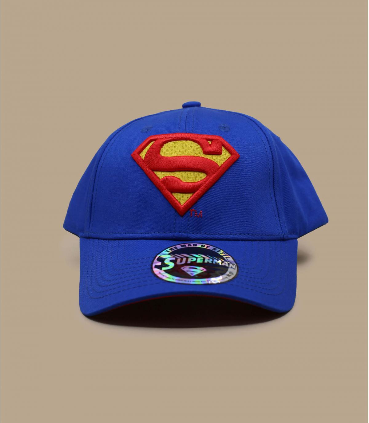 blauwe superman caps