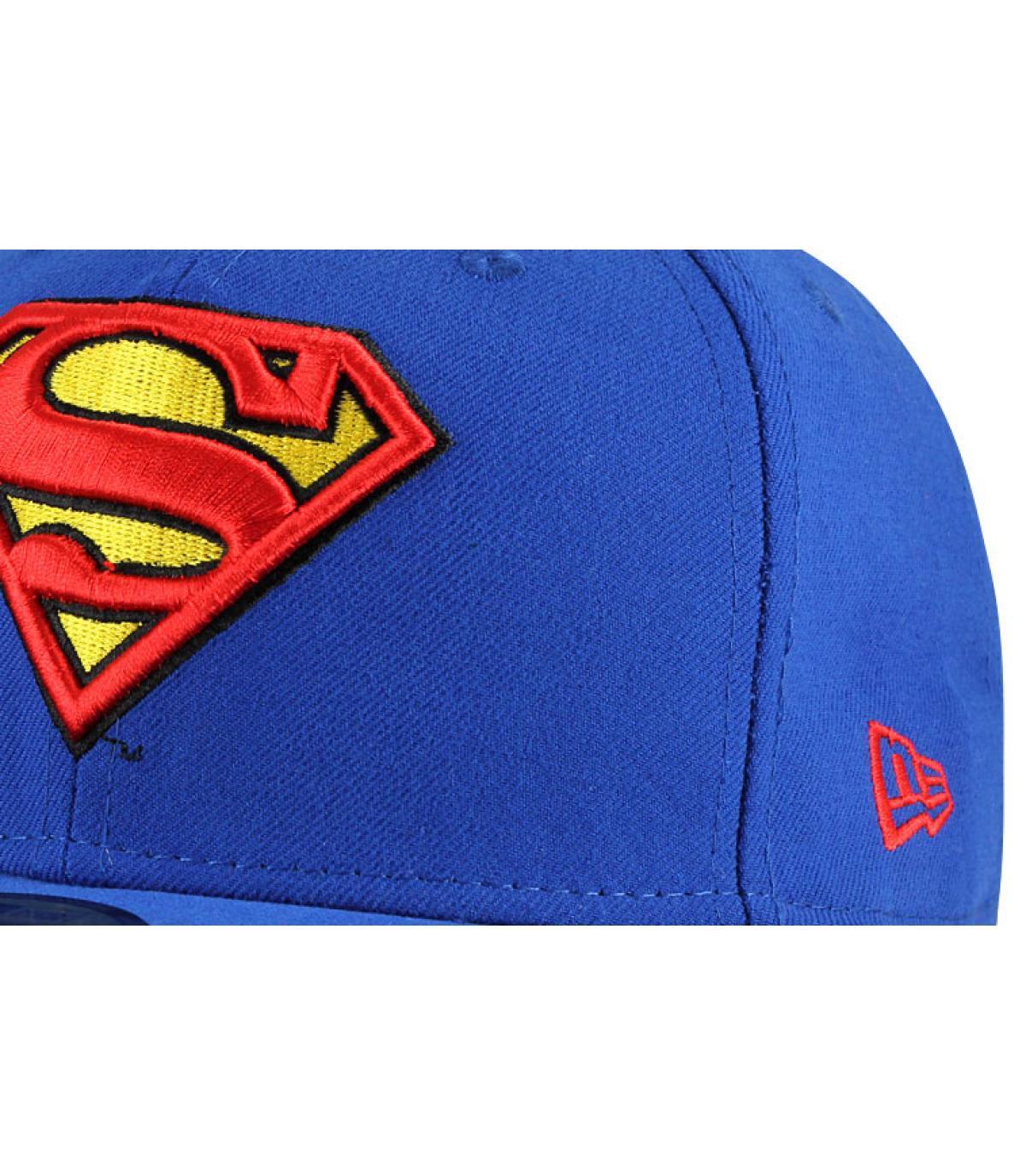 Details Cap Superman black - afbeeling 2