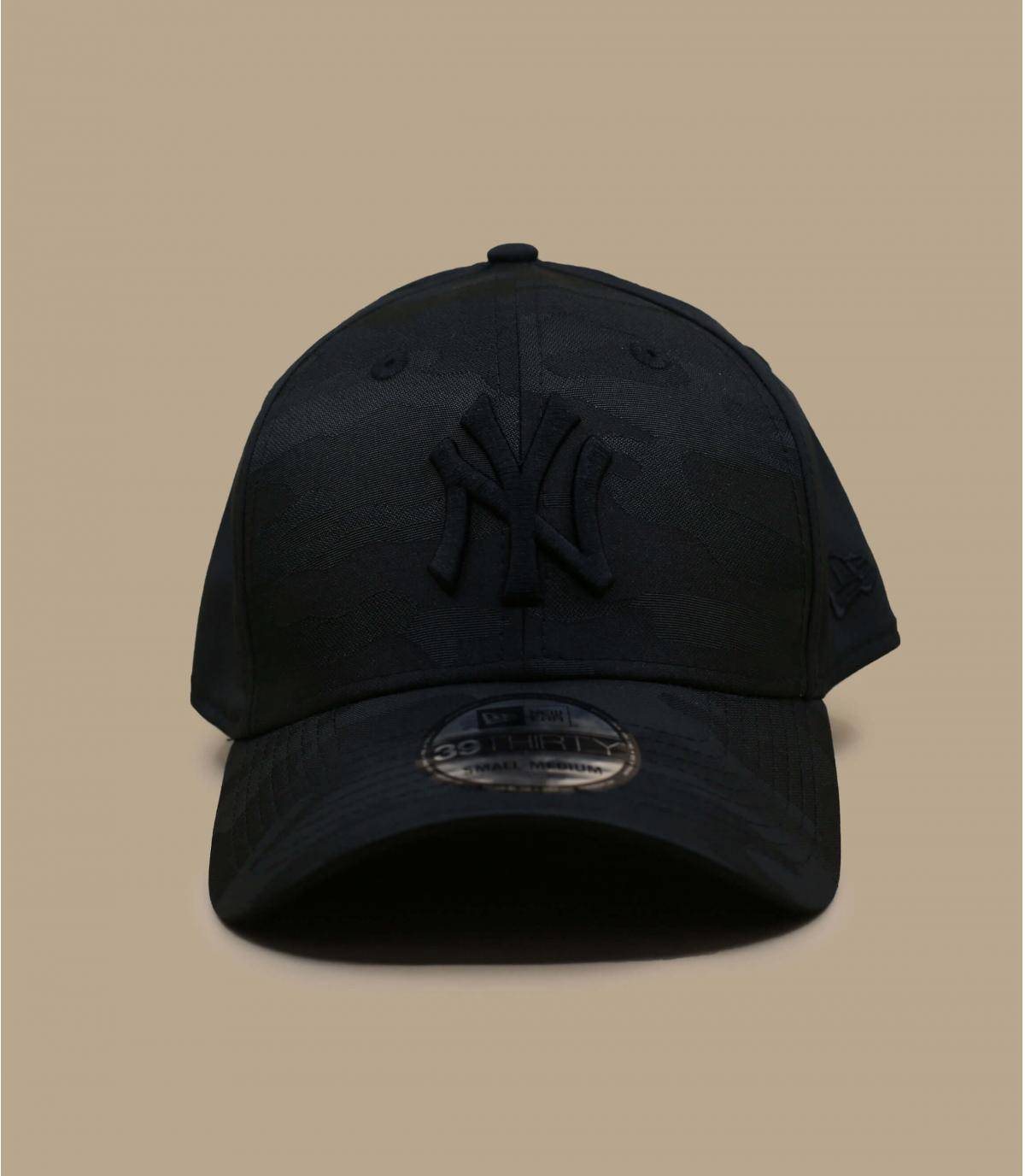 NY cap zwarte camo