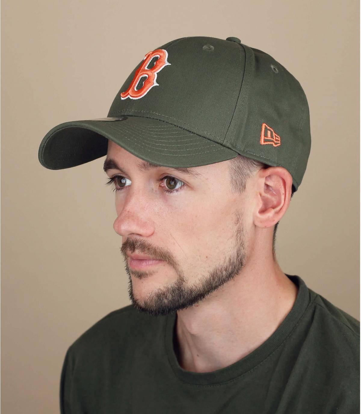 groene B-cap