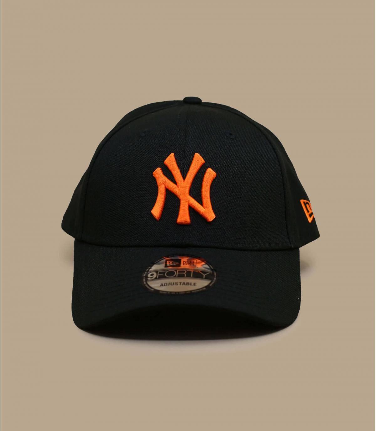 Details Pop Logo 940 NY black orange - afbeeling 2